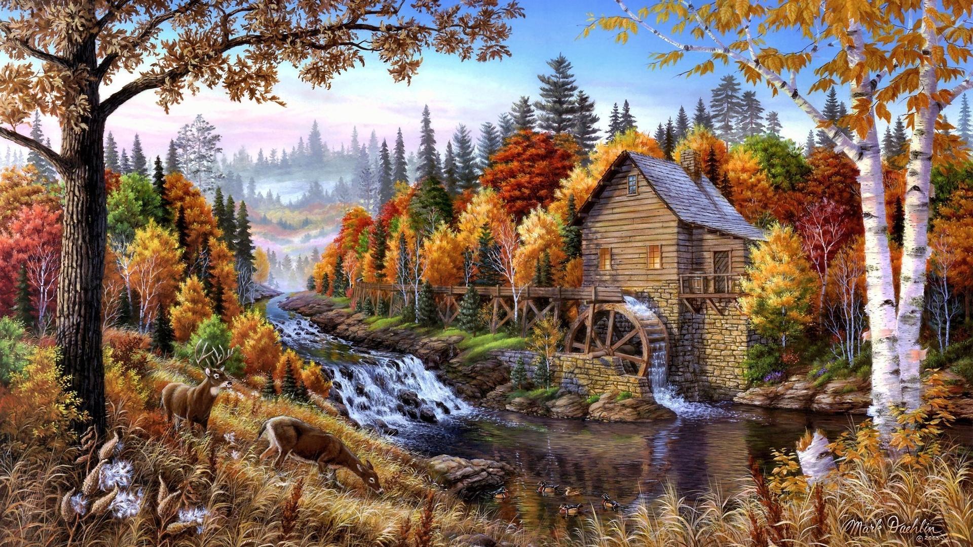 пейзажи в картинках про осень могут быть тиски