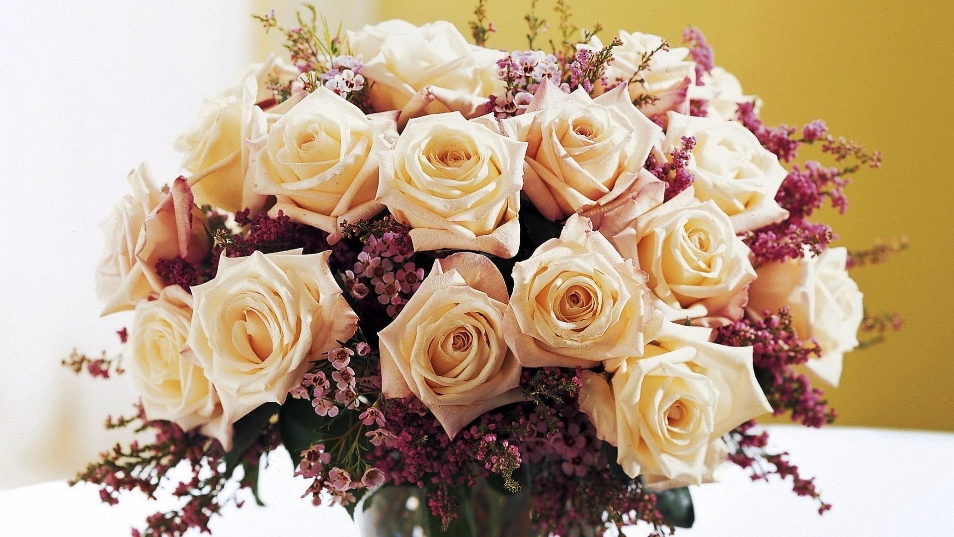 Самые красивые картинки с букетами цветов, чаком