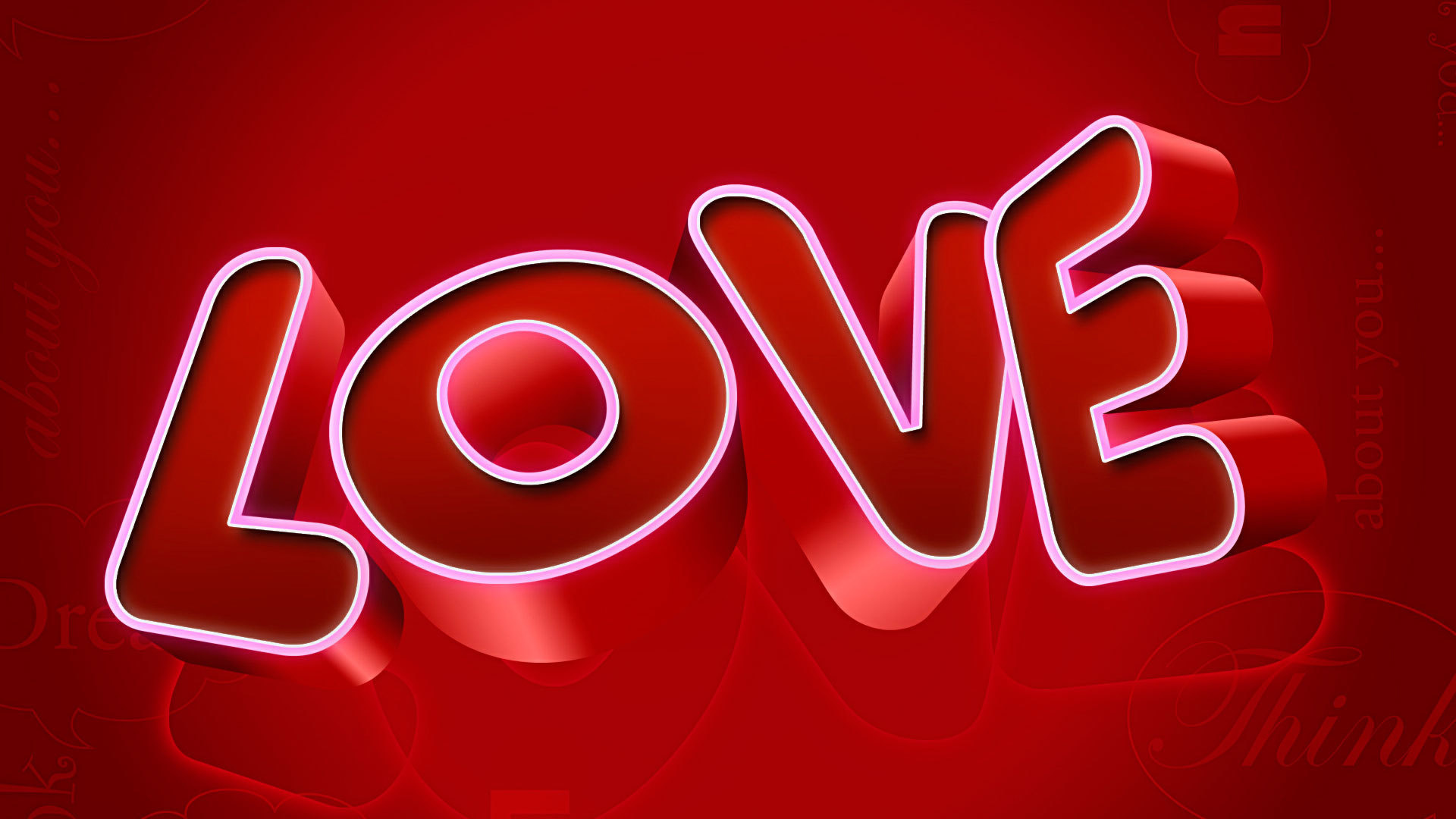 Картинка любовь это надпись
