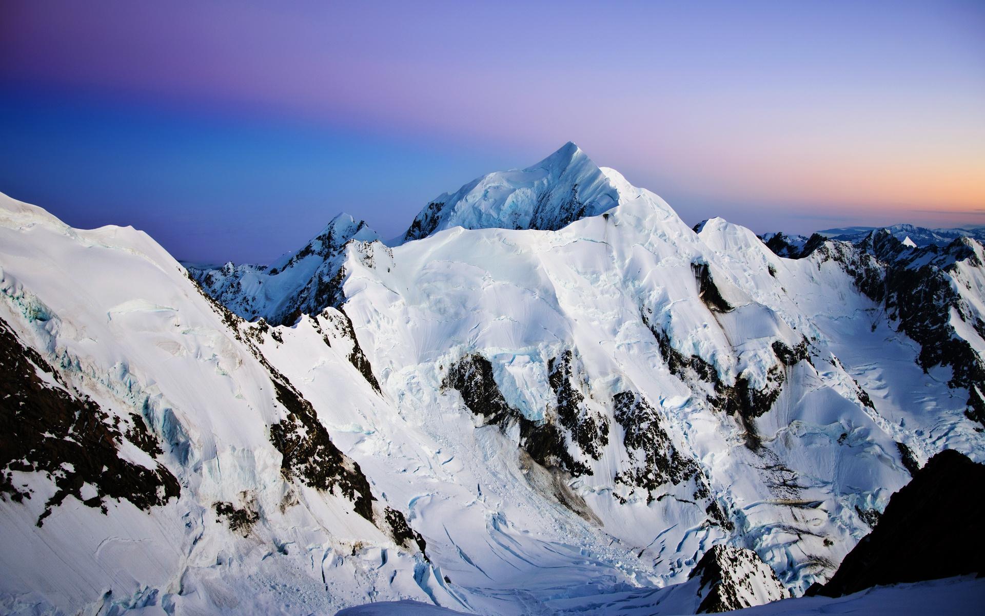 высококвалифицированные картинки обои вершины гор при