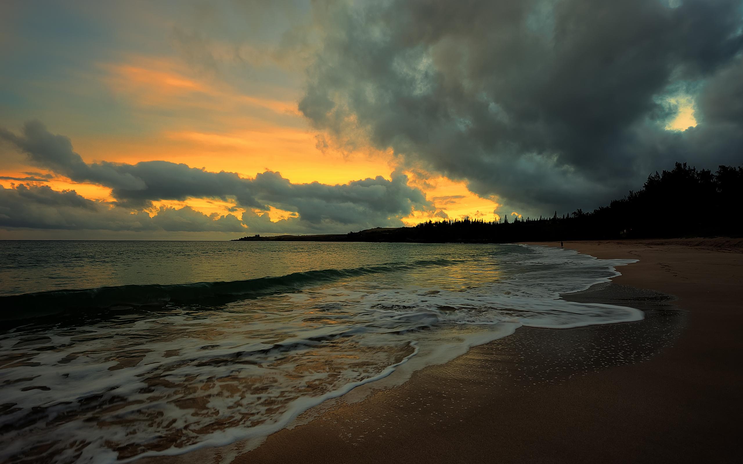 вечерний пейзаж на море картинки девятнадцать