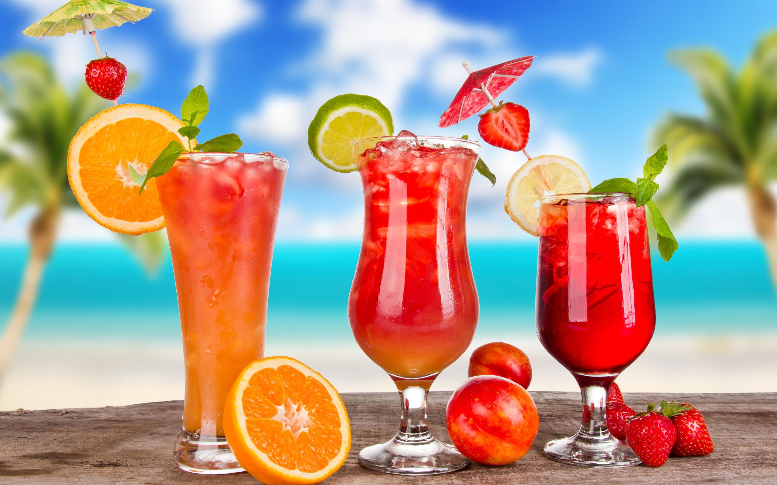 Картинка с коктейлями