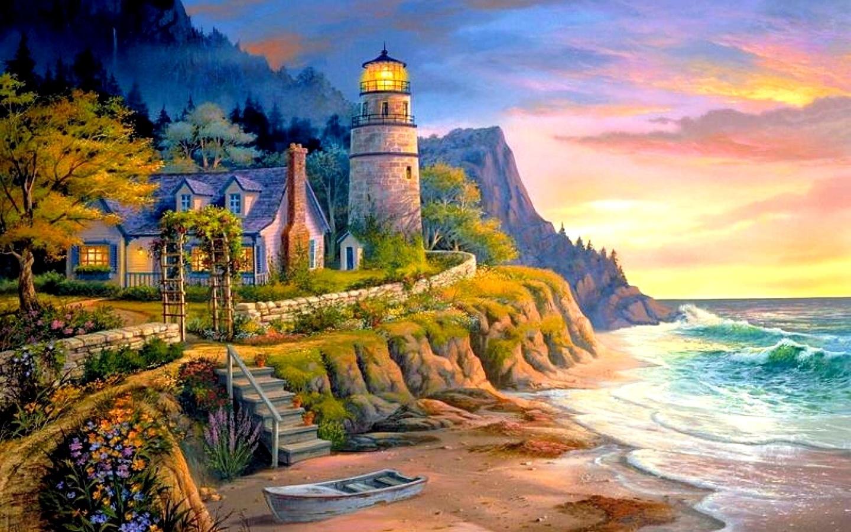 красочные картинки пейзажи ваши идеи