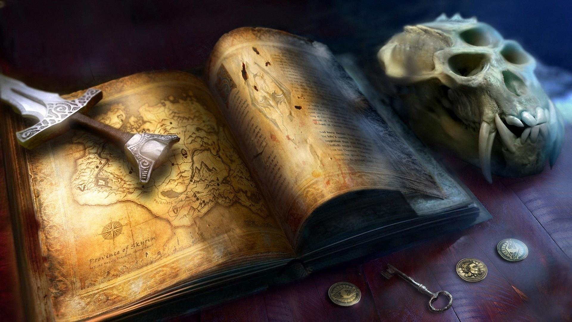 Книга картинка фэнтези