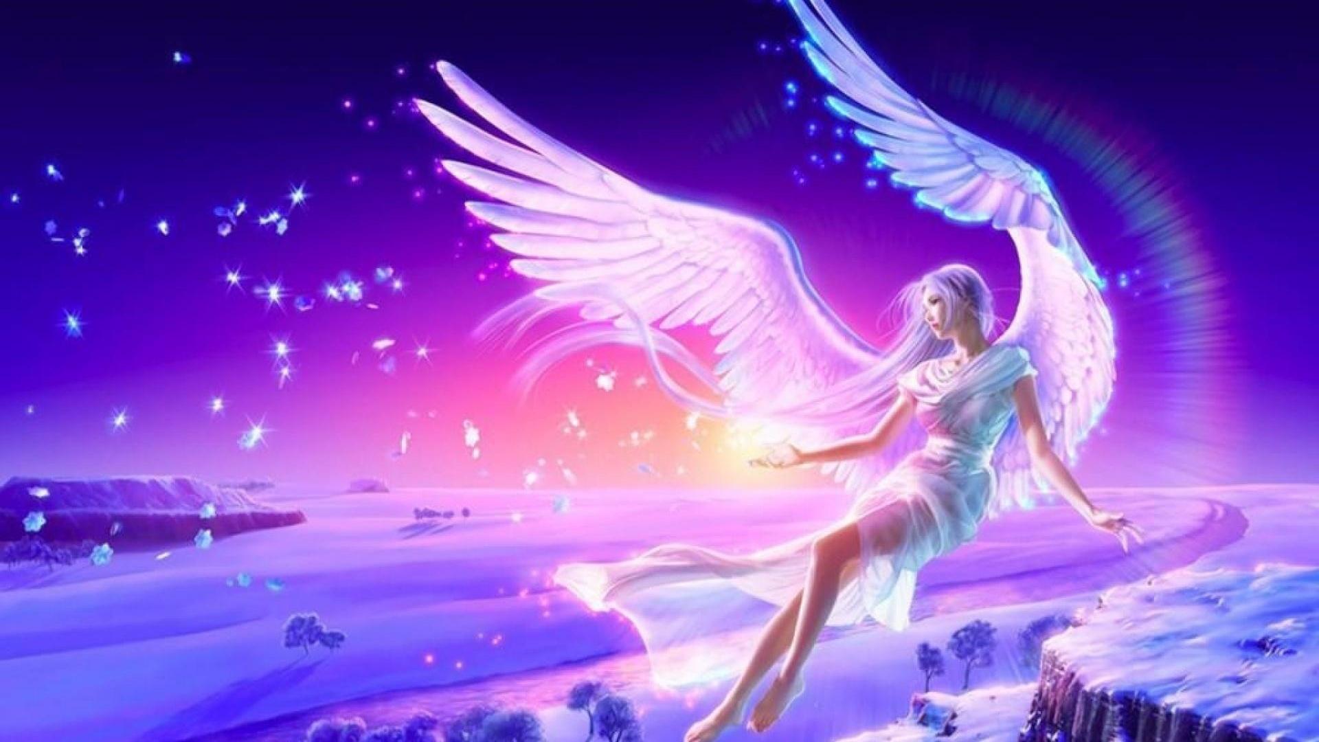 специальная летающие ангелы картинки красиво выполнил