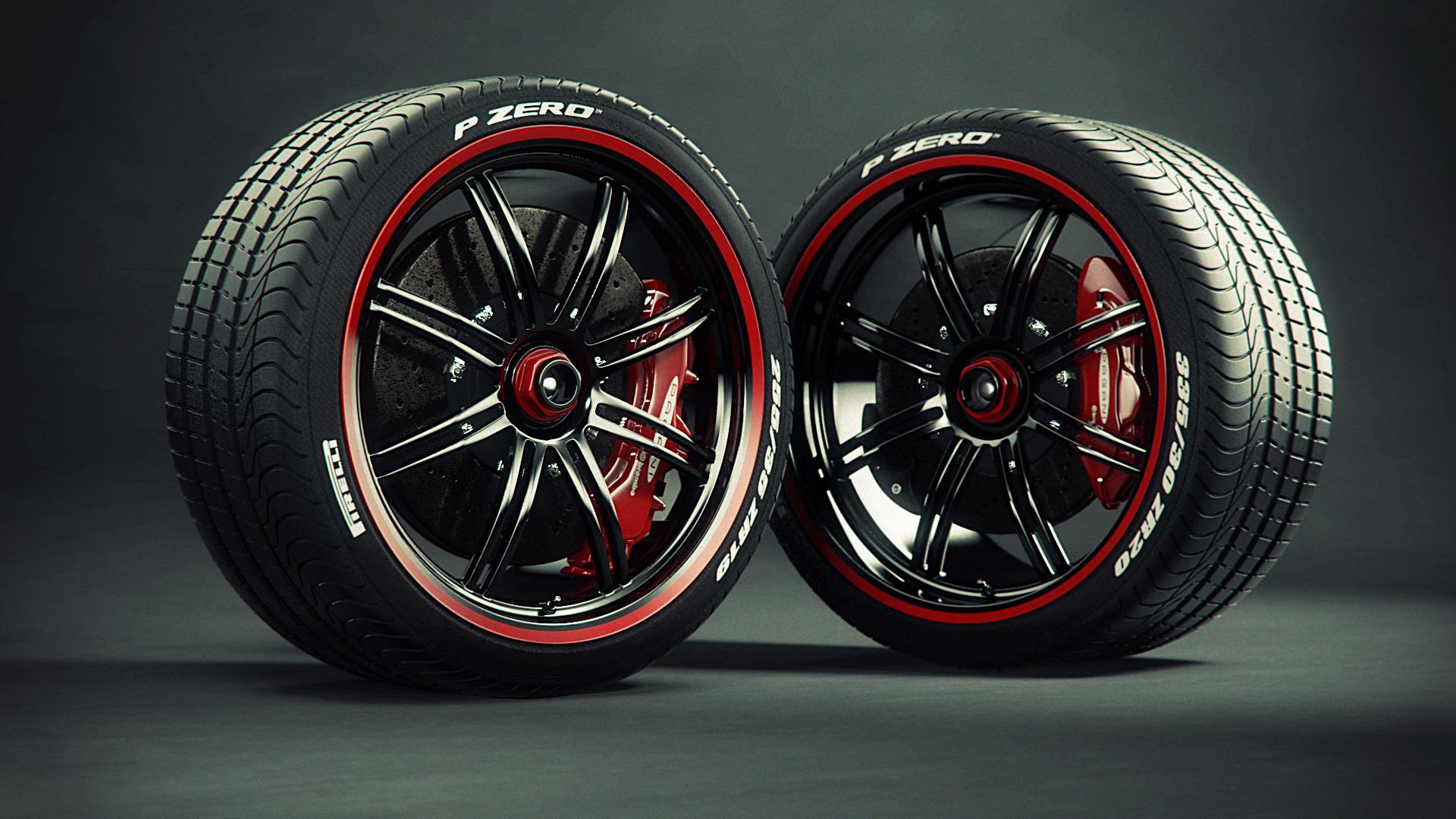 Картинки машинных колес