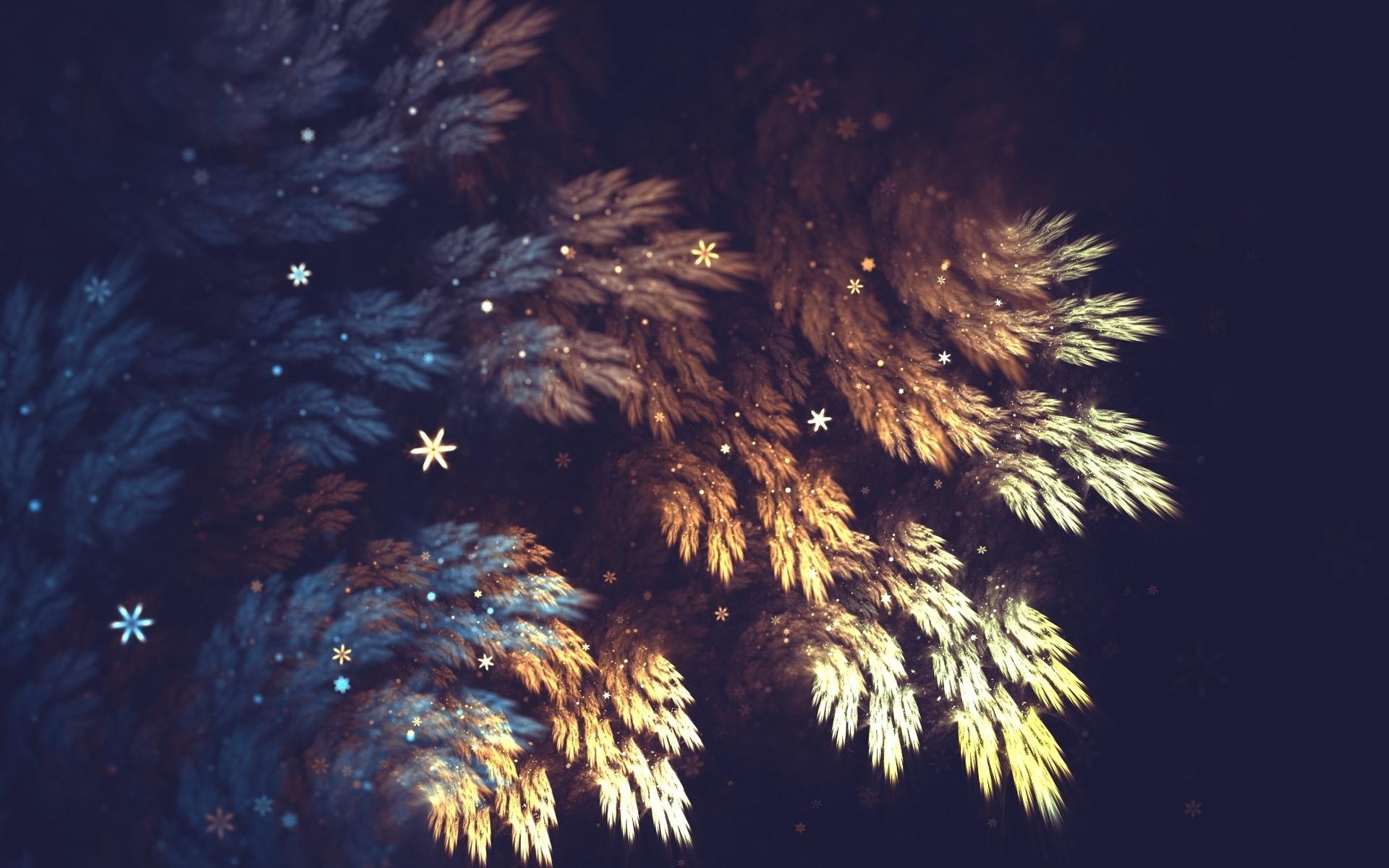 черные новогодние картинки на обои