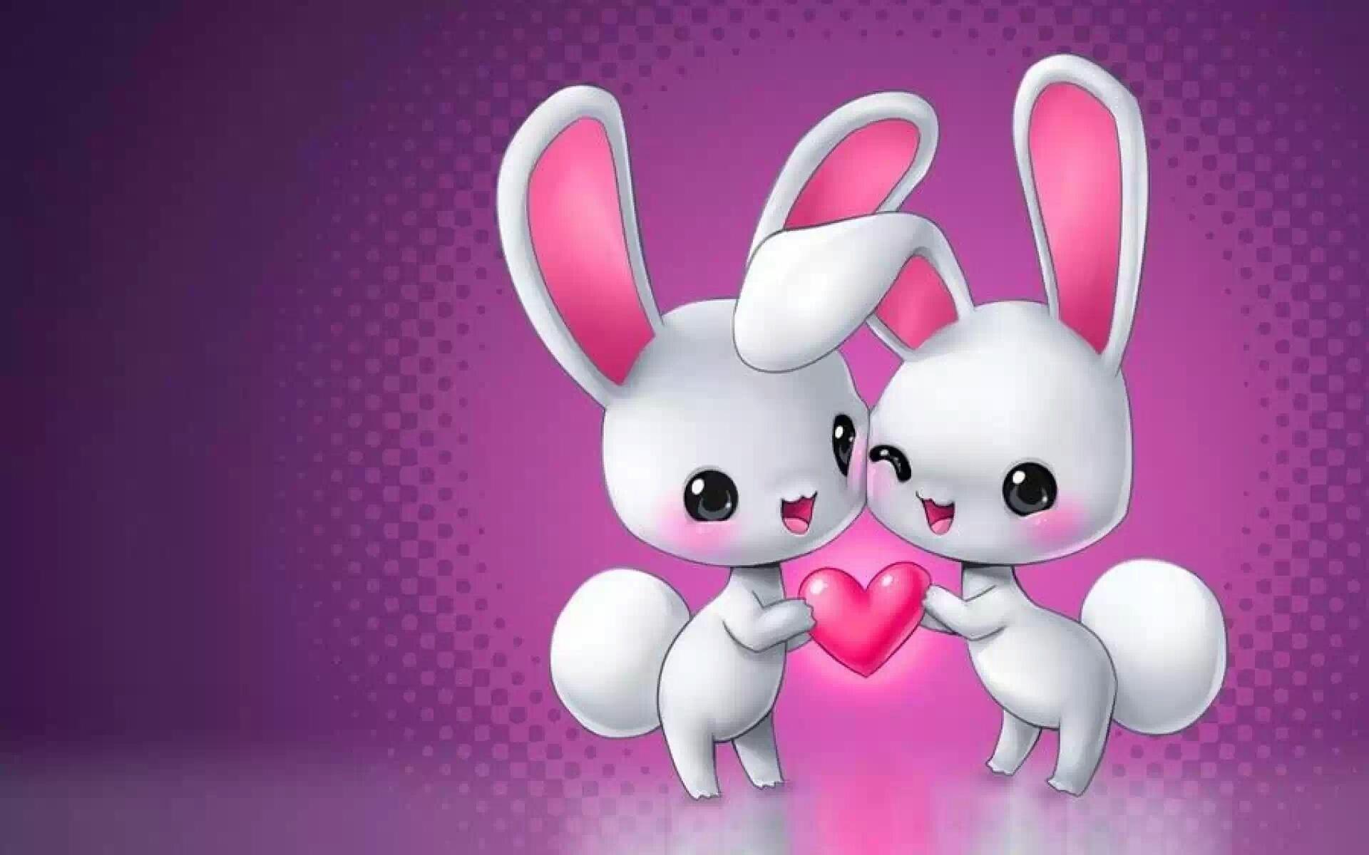 красивые картинки о любви с зайками