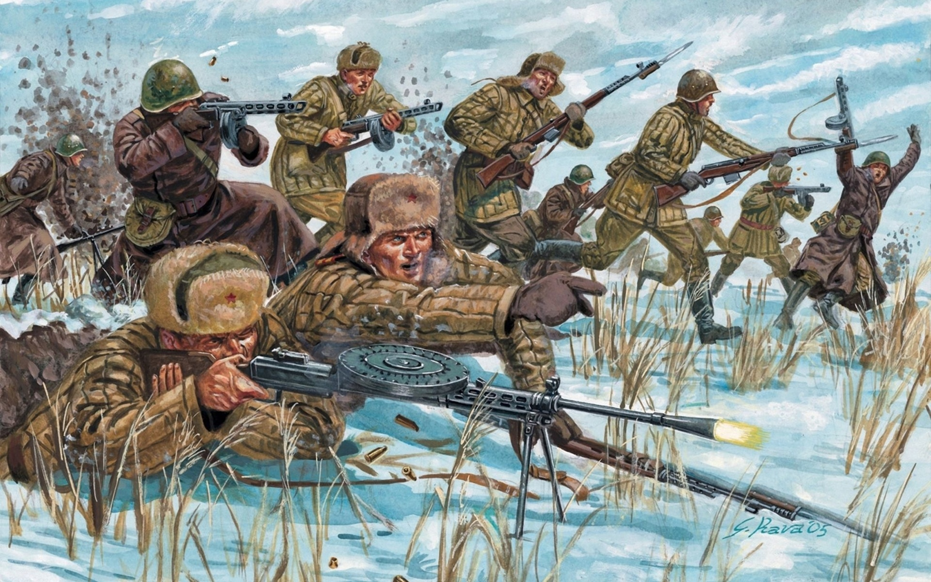 Картинки солдат из журналов