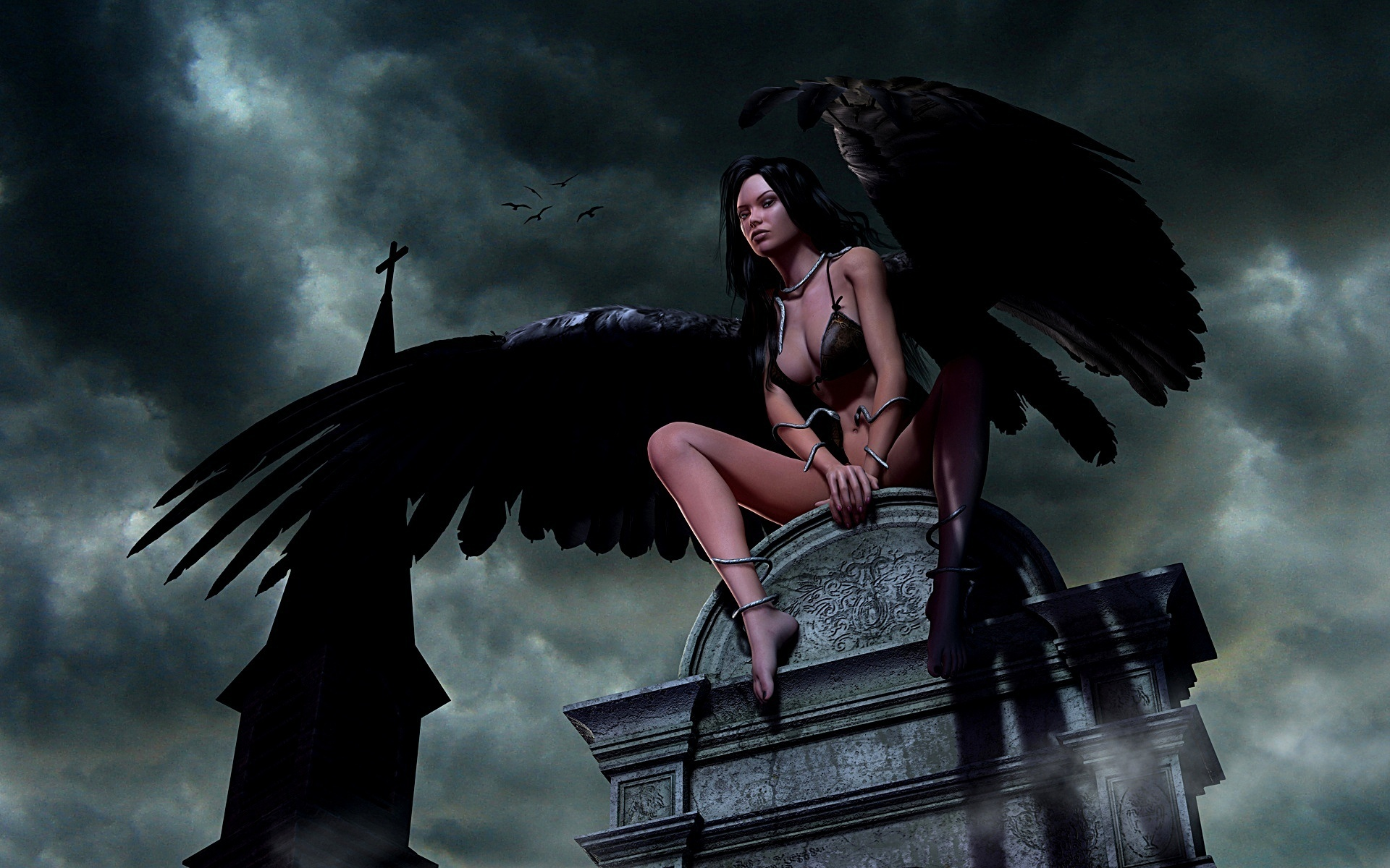 картинки ангелы и ведьмы вредители растений