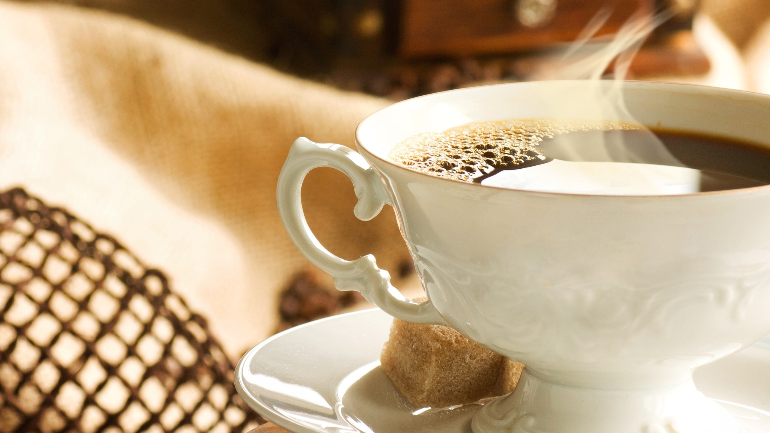 Картинка чашка кофе с паром