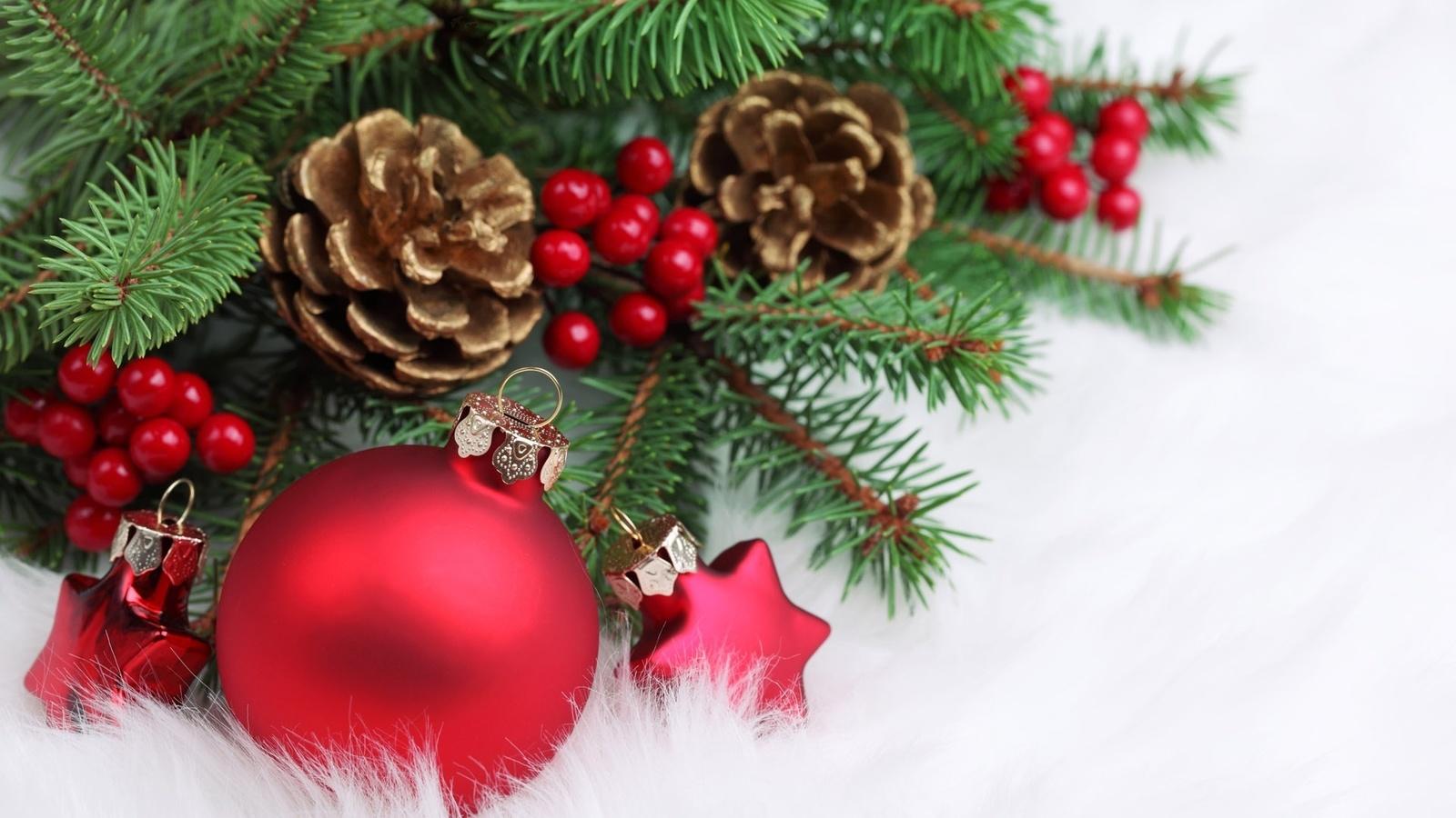 Новогоднее поздравление от елки