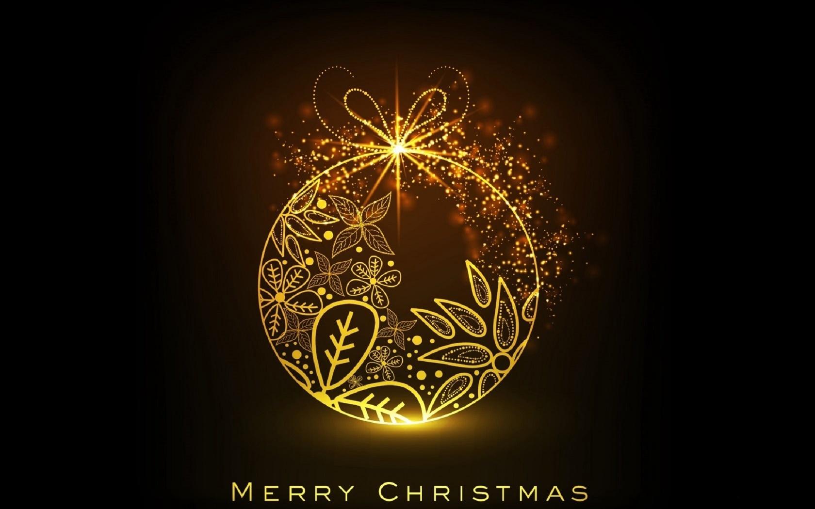 Стильная открытка с новым годом и рождеством