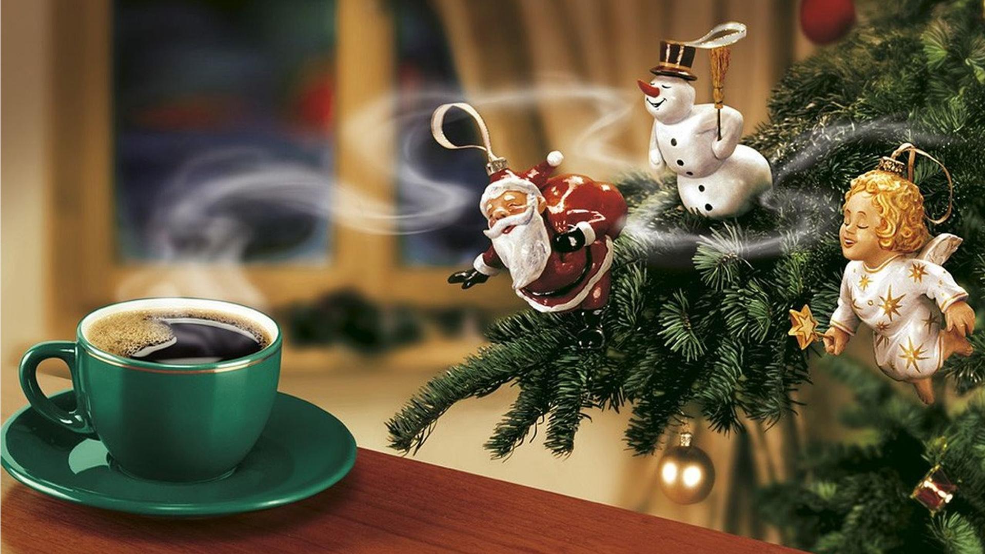 Новогодняя картинки доброе утро