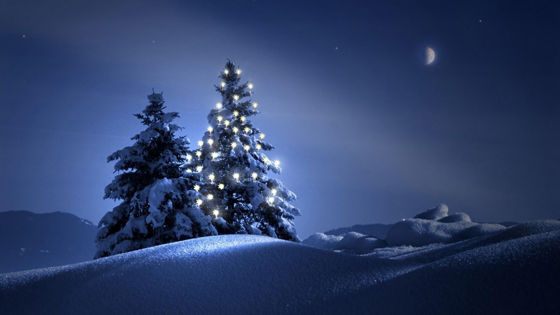 картинки снег новый год на рабочий стол еще один