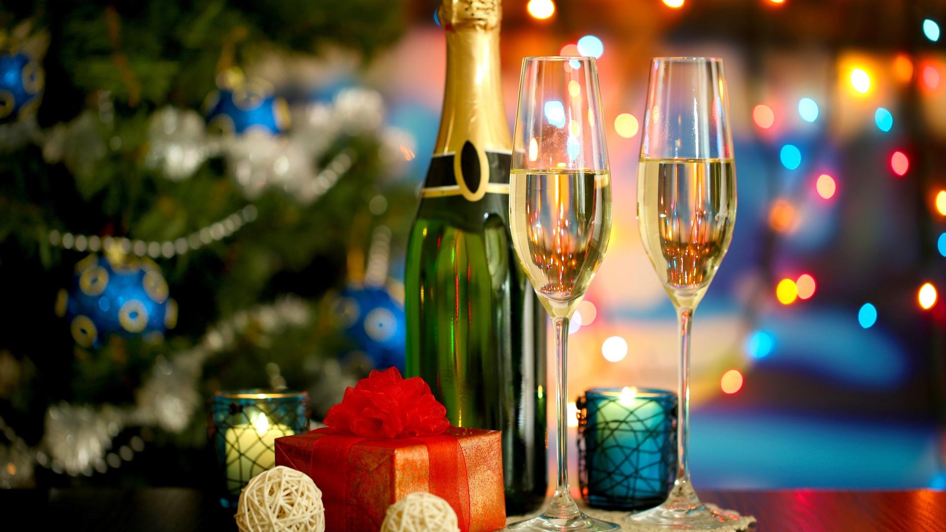фото шампанского под елкой стал резервным городом