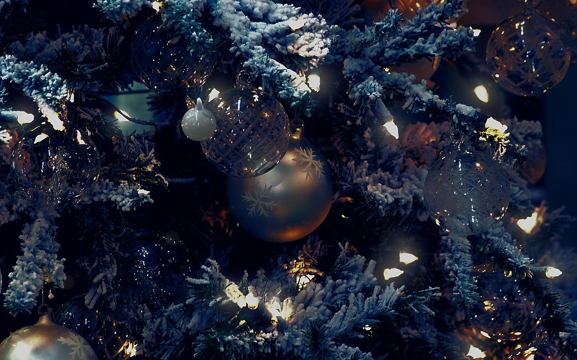 Картинки на фон компьютера новогодние