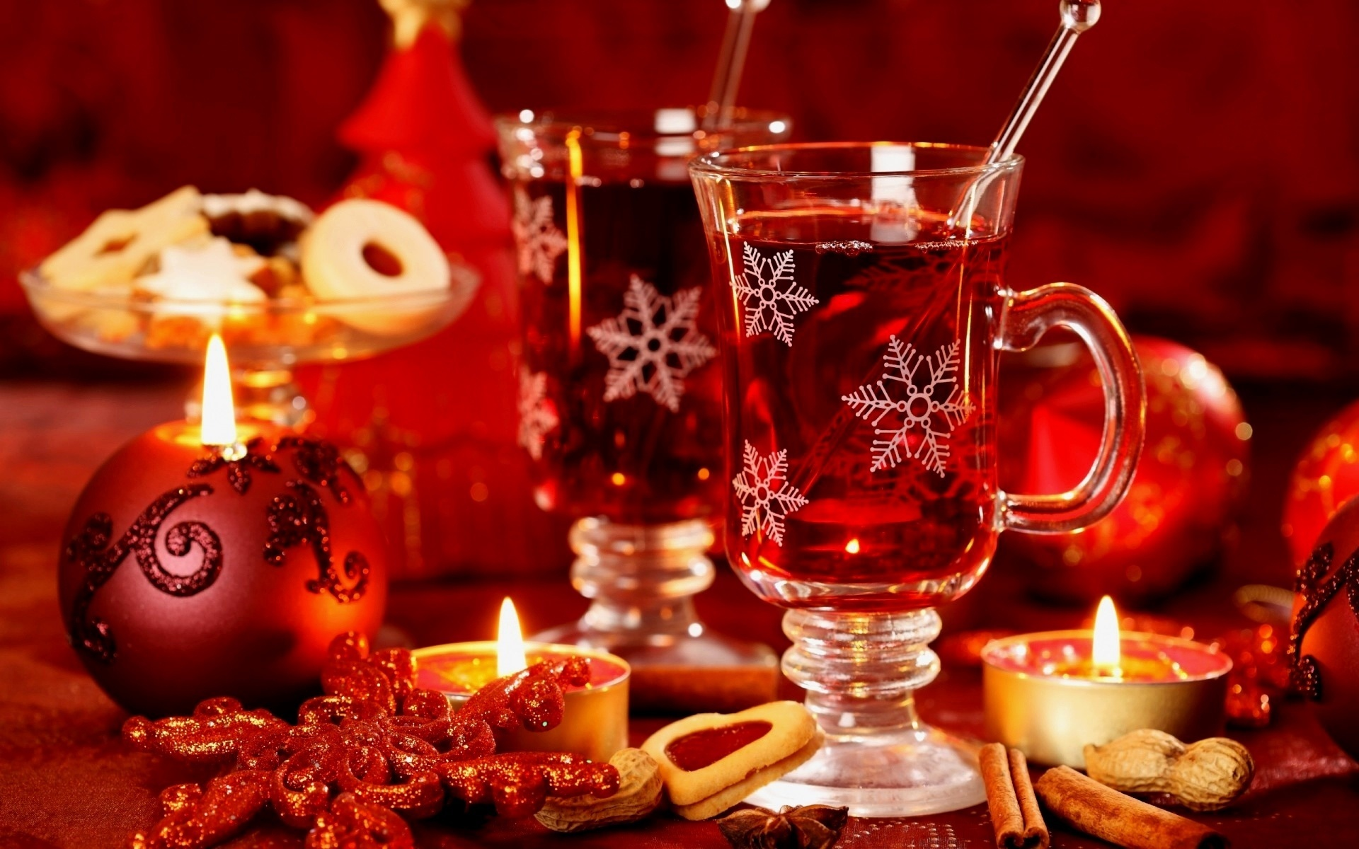 Новогодние теплые картинки