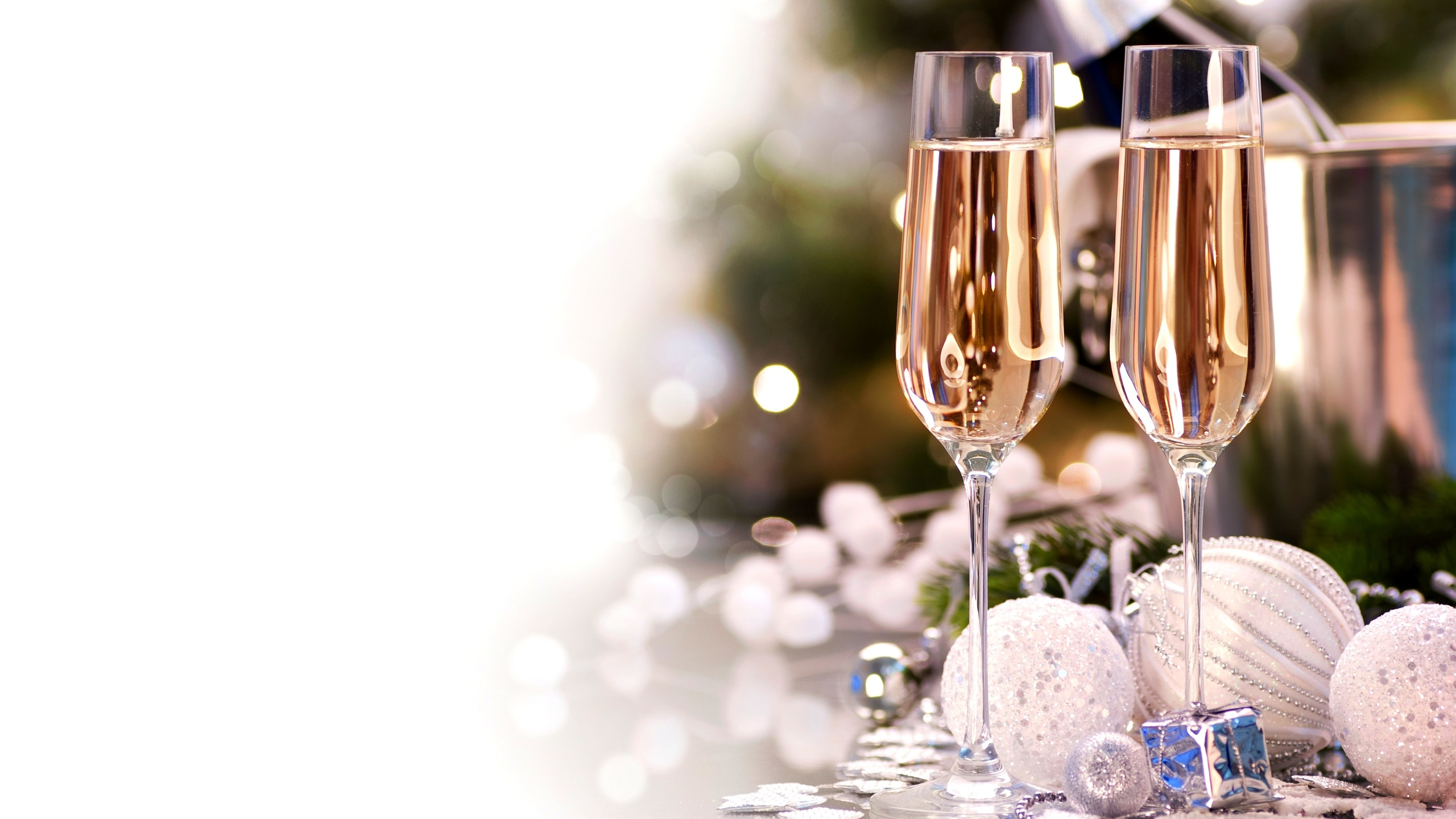 Шампанское новогодние картинки