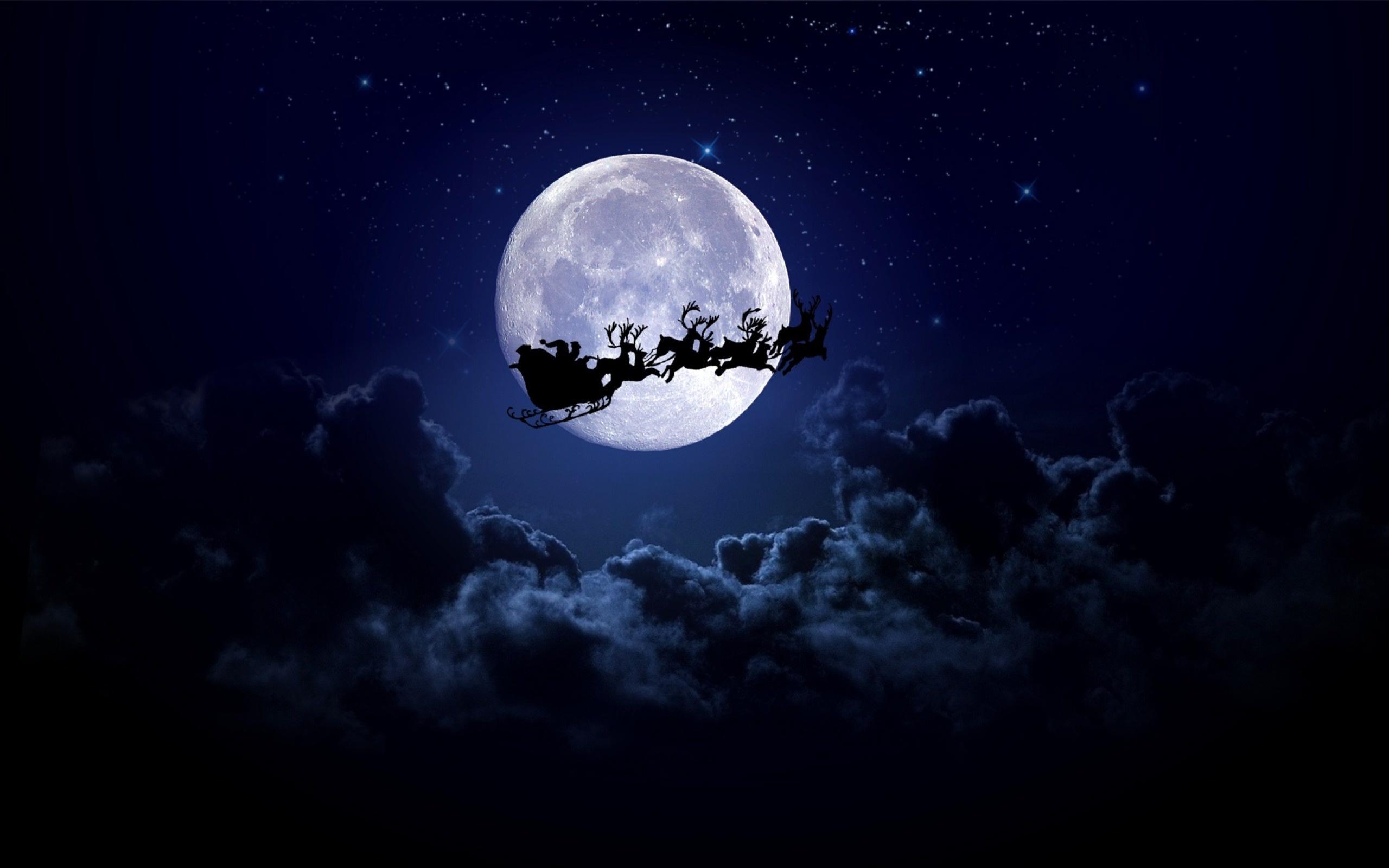 Картинка с луной на обои, летием