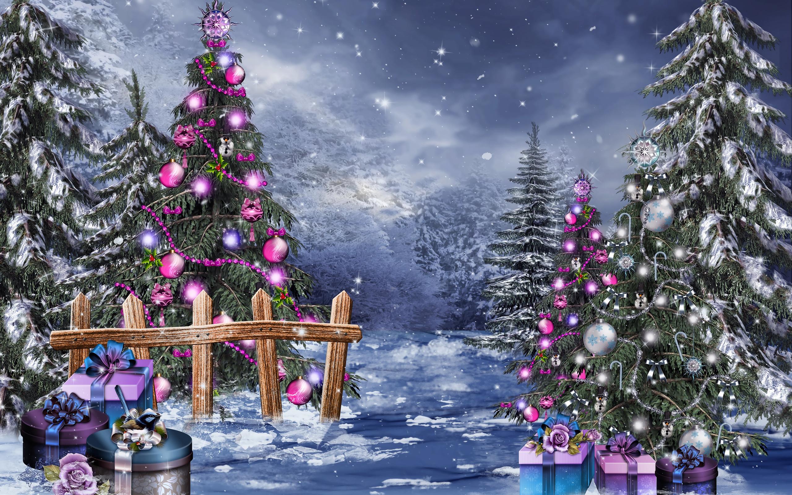 Картинки зима новым годом