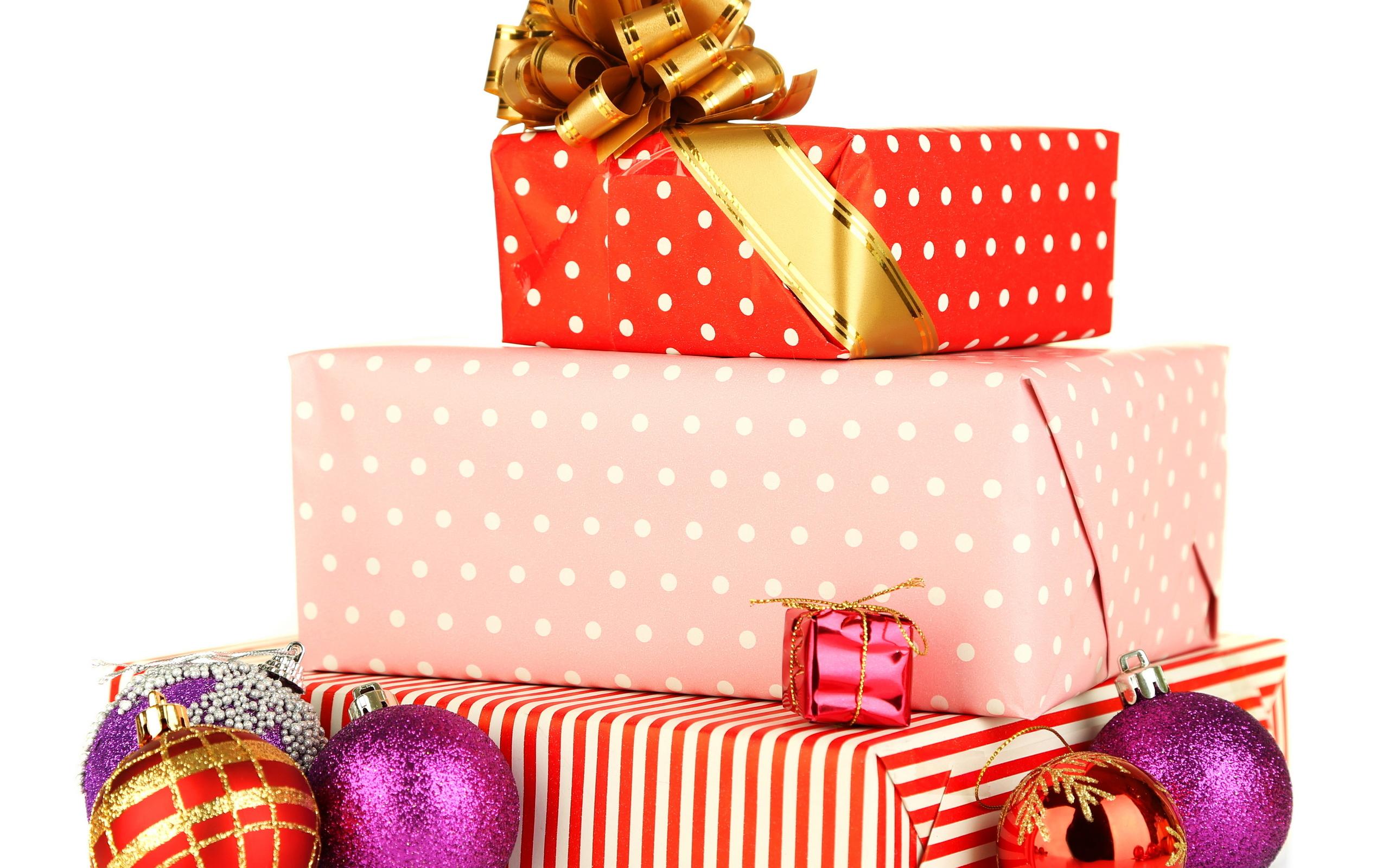 Подарки коробки новогодние картинки