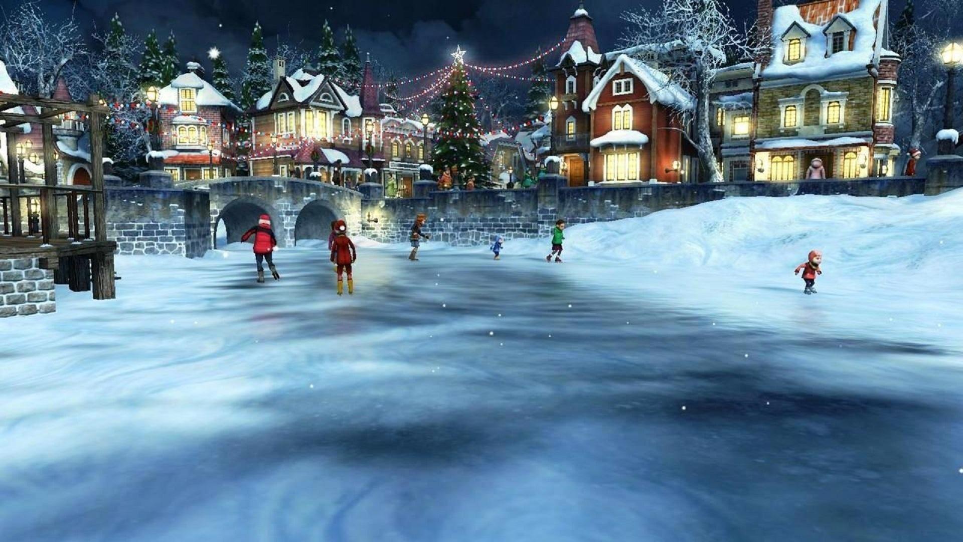 Картинки зимнего катка