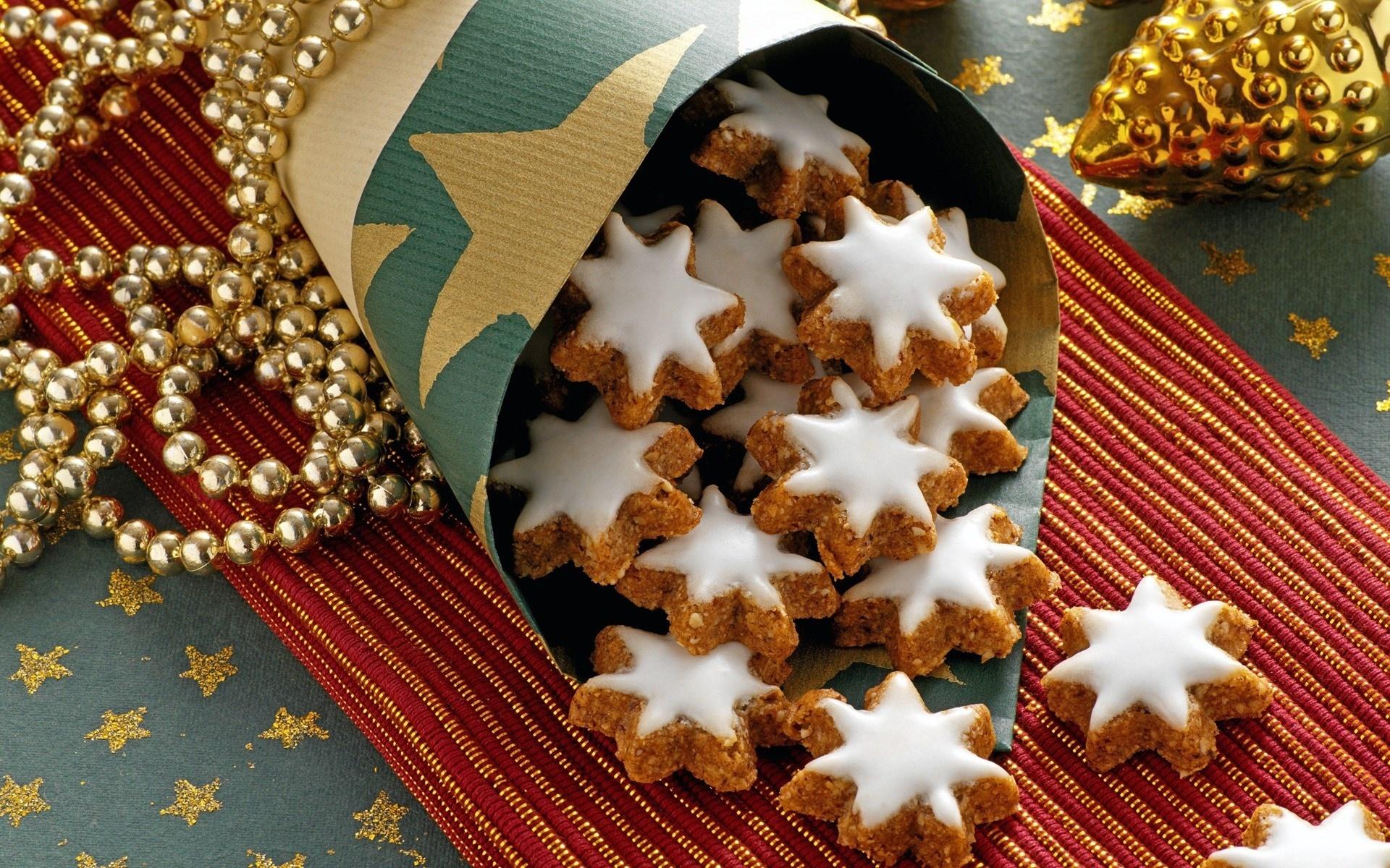 Картинки новогодние печенье