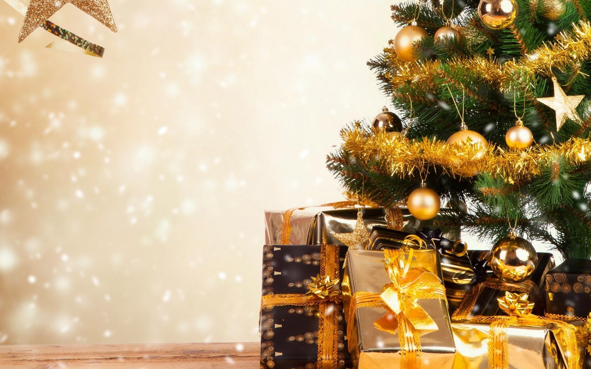 Новогодняя картинка с елкой, любовь