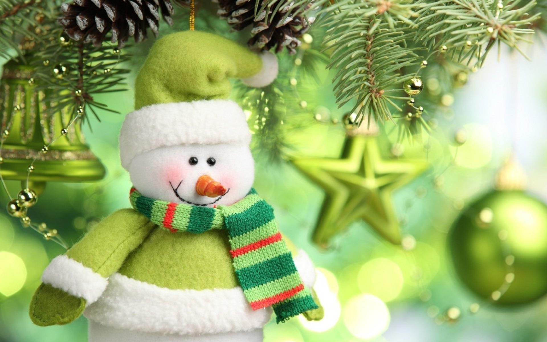 Картинки новогодние снеговичок