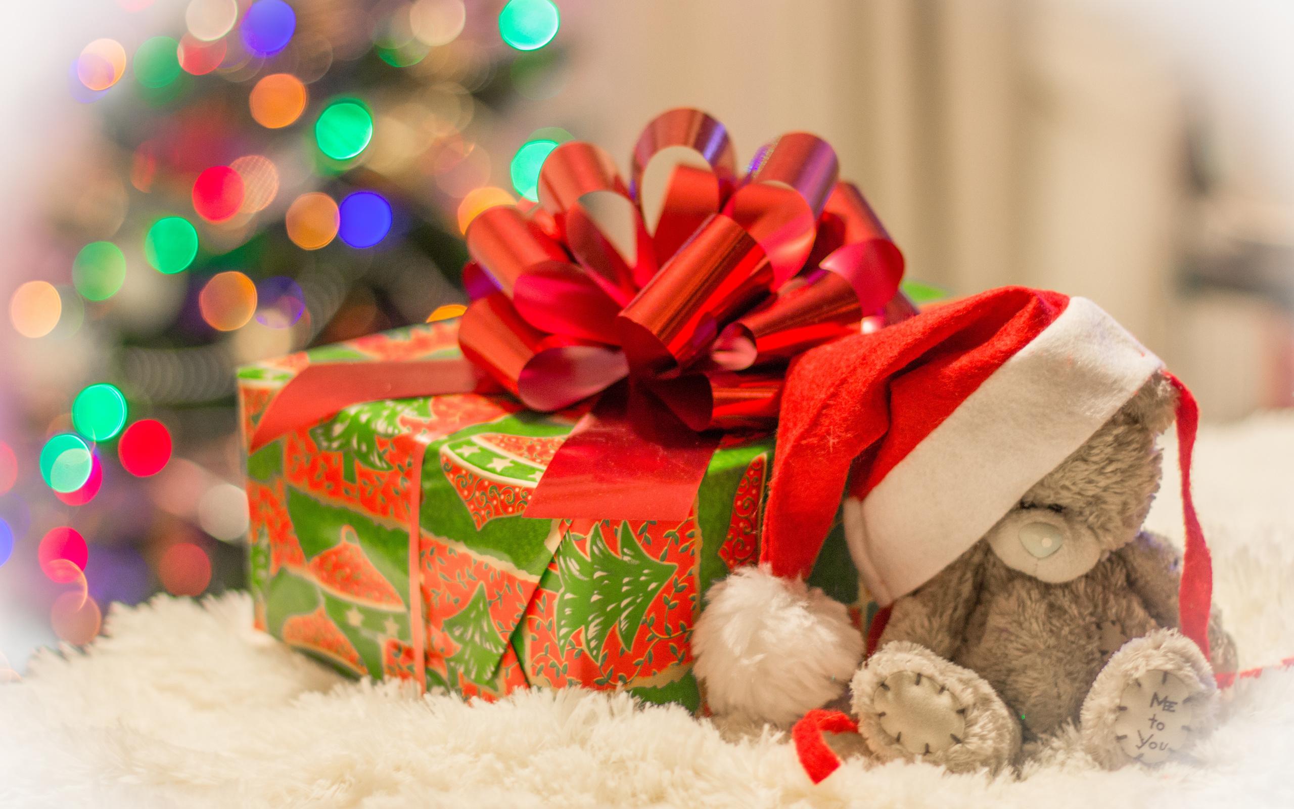 С новым годом картинки с подарками