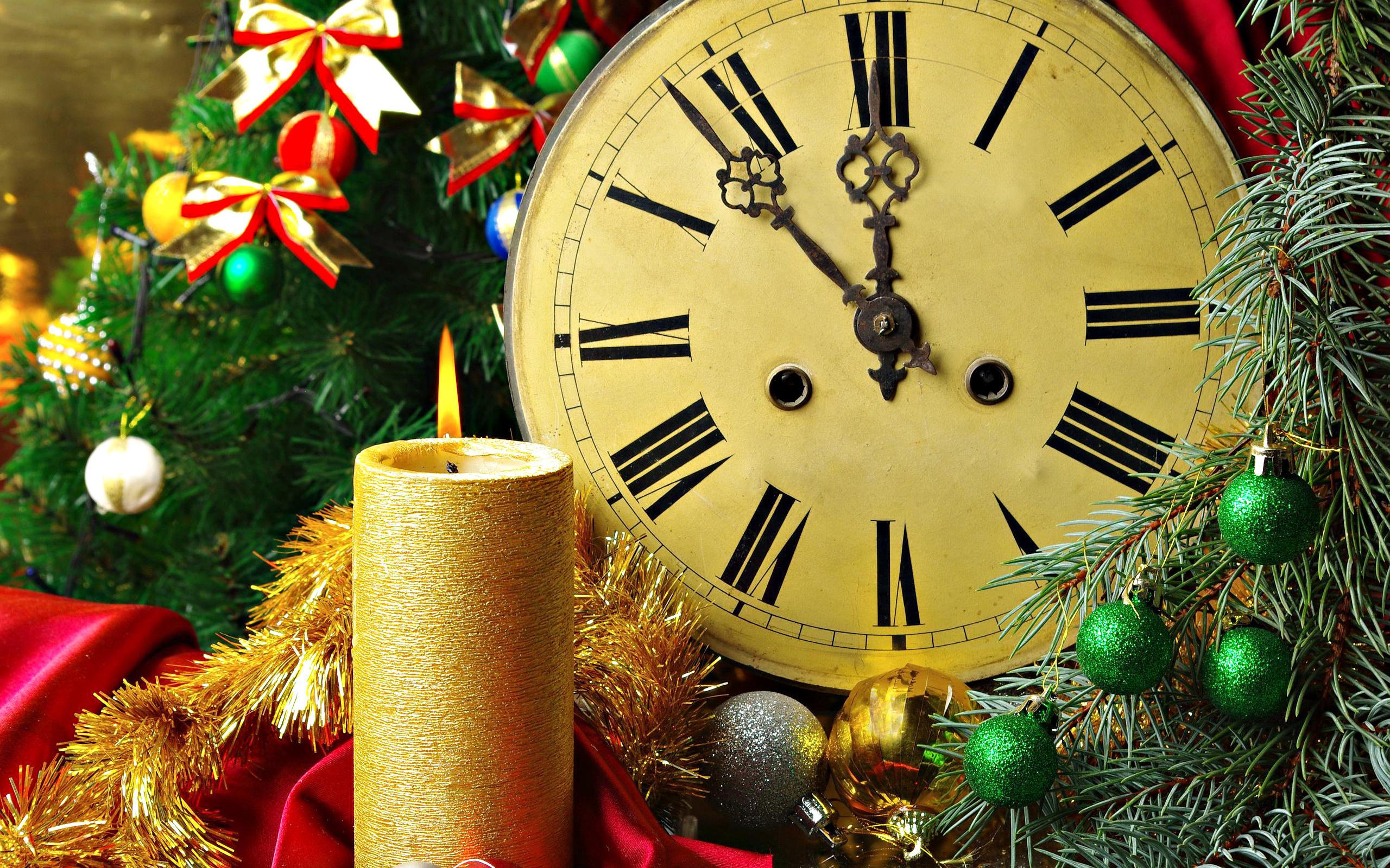 Картинка на часы новый год