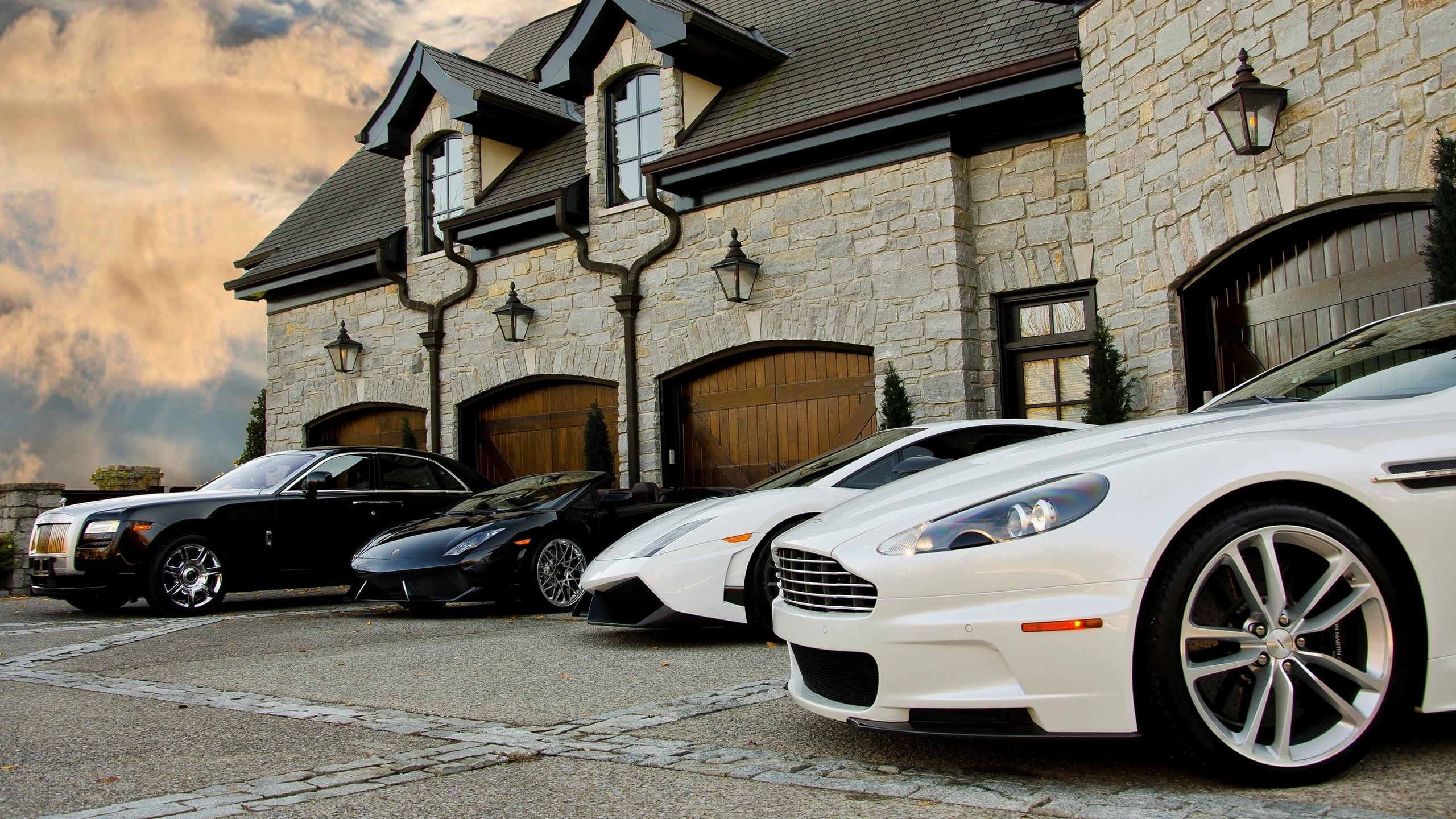 картинки дорогих домов и машин