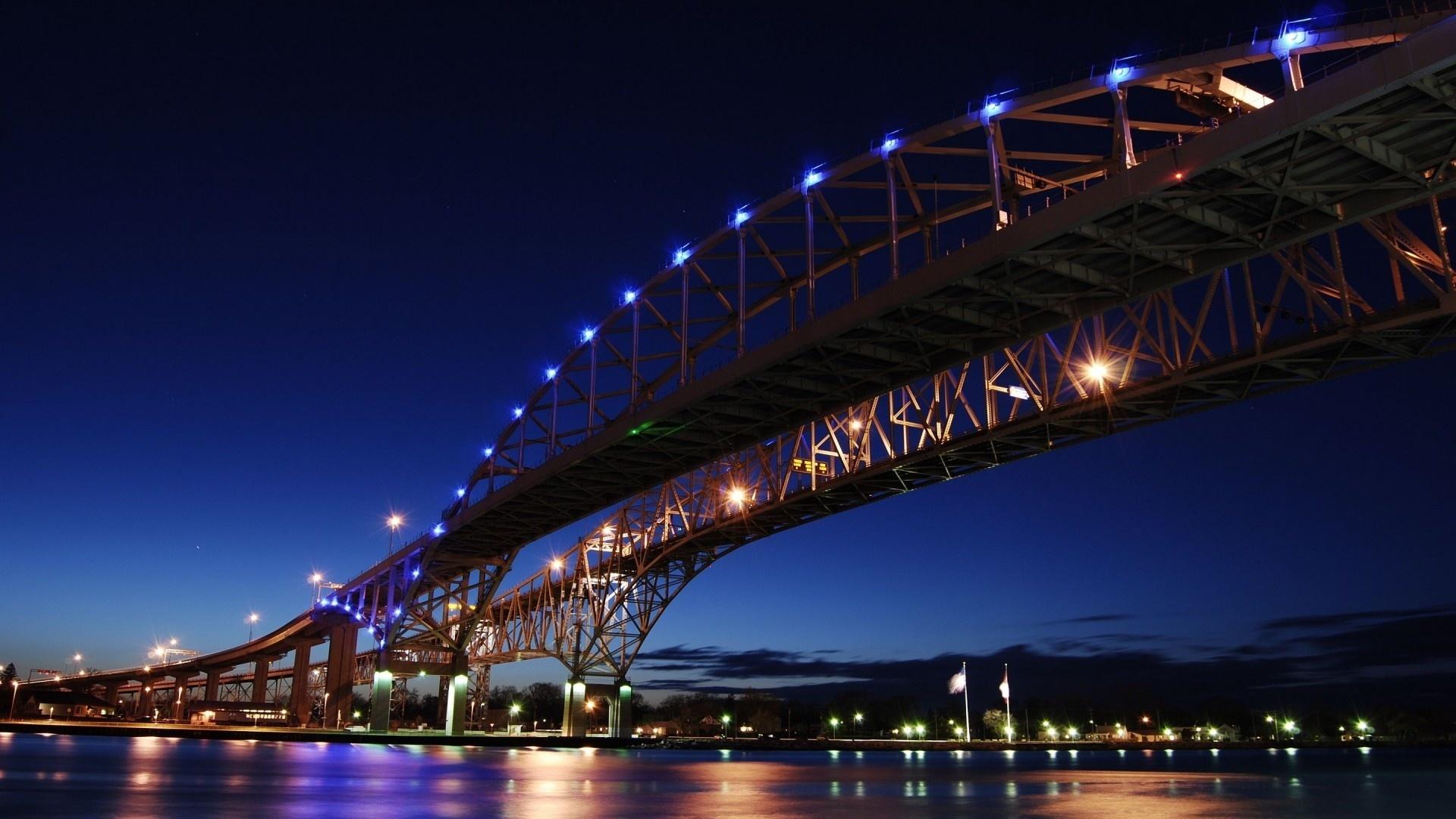 лучший, картинка ночной мост для телефона пляжа нет особо