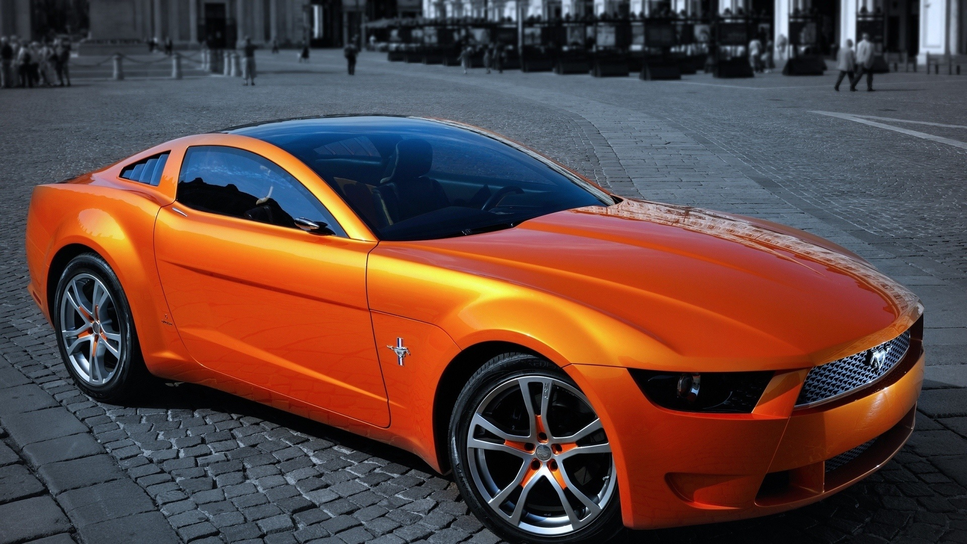 Оранжевые спортивные машины картинки
