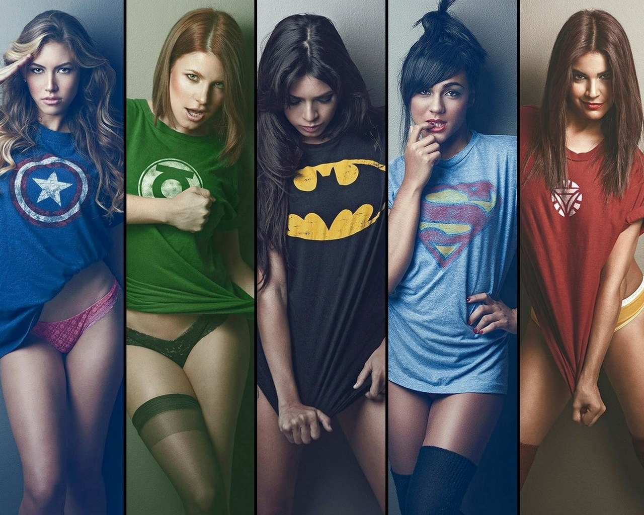 Картинки девушек супергероев на телефон
