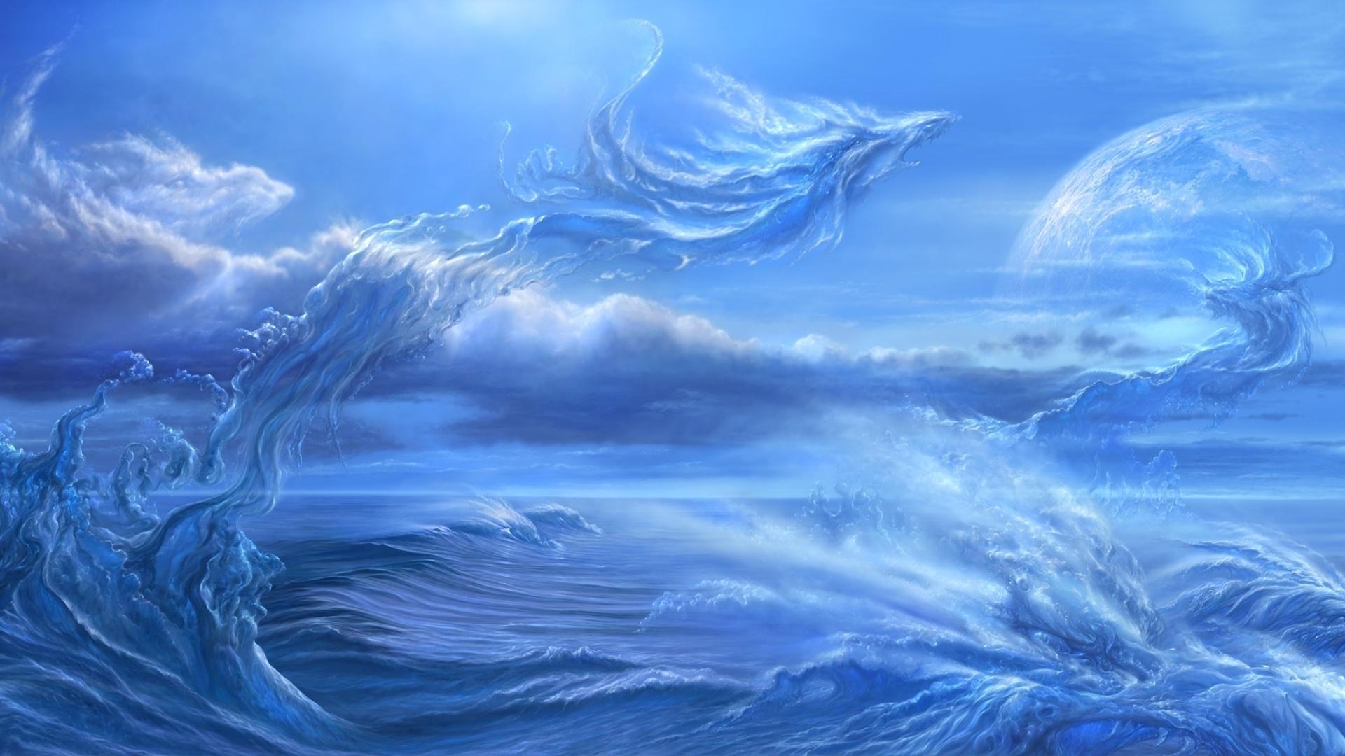 Вода и ветер картинки
