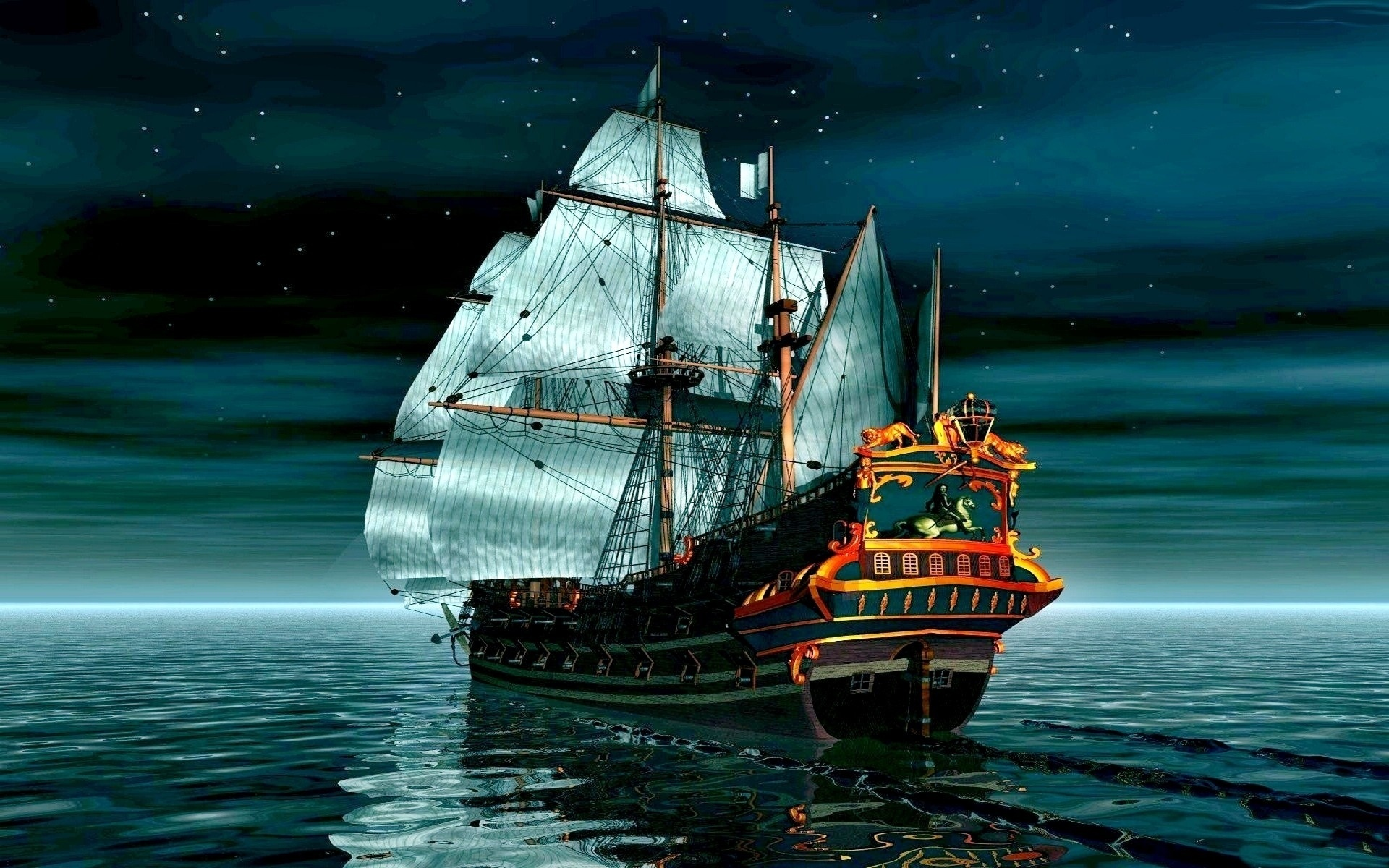 Фото, картинки пиратский корабль на телефон
