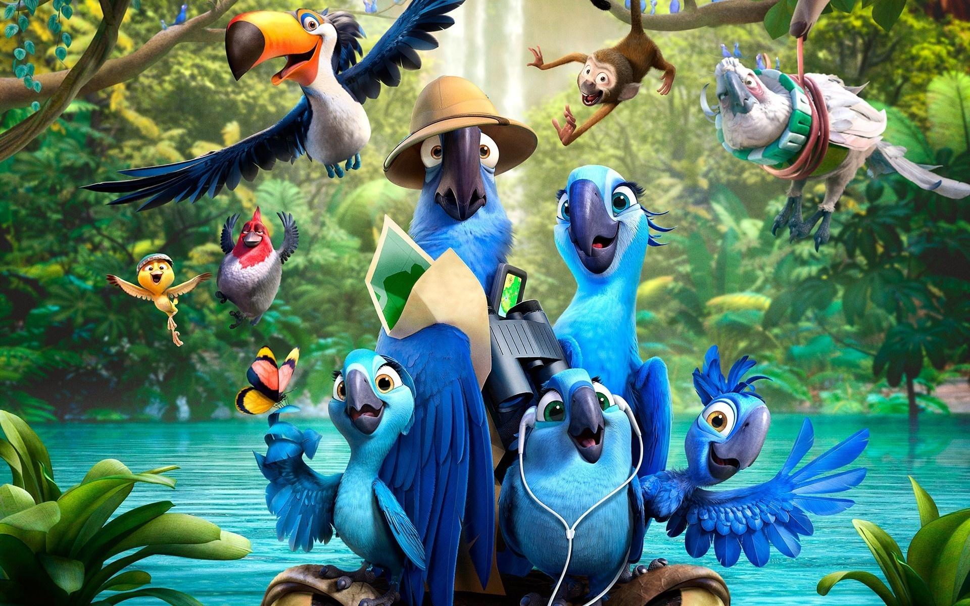 картинки из рио все птицы коридоре нём позже