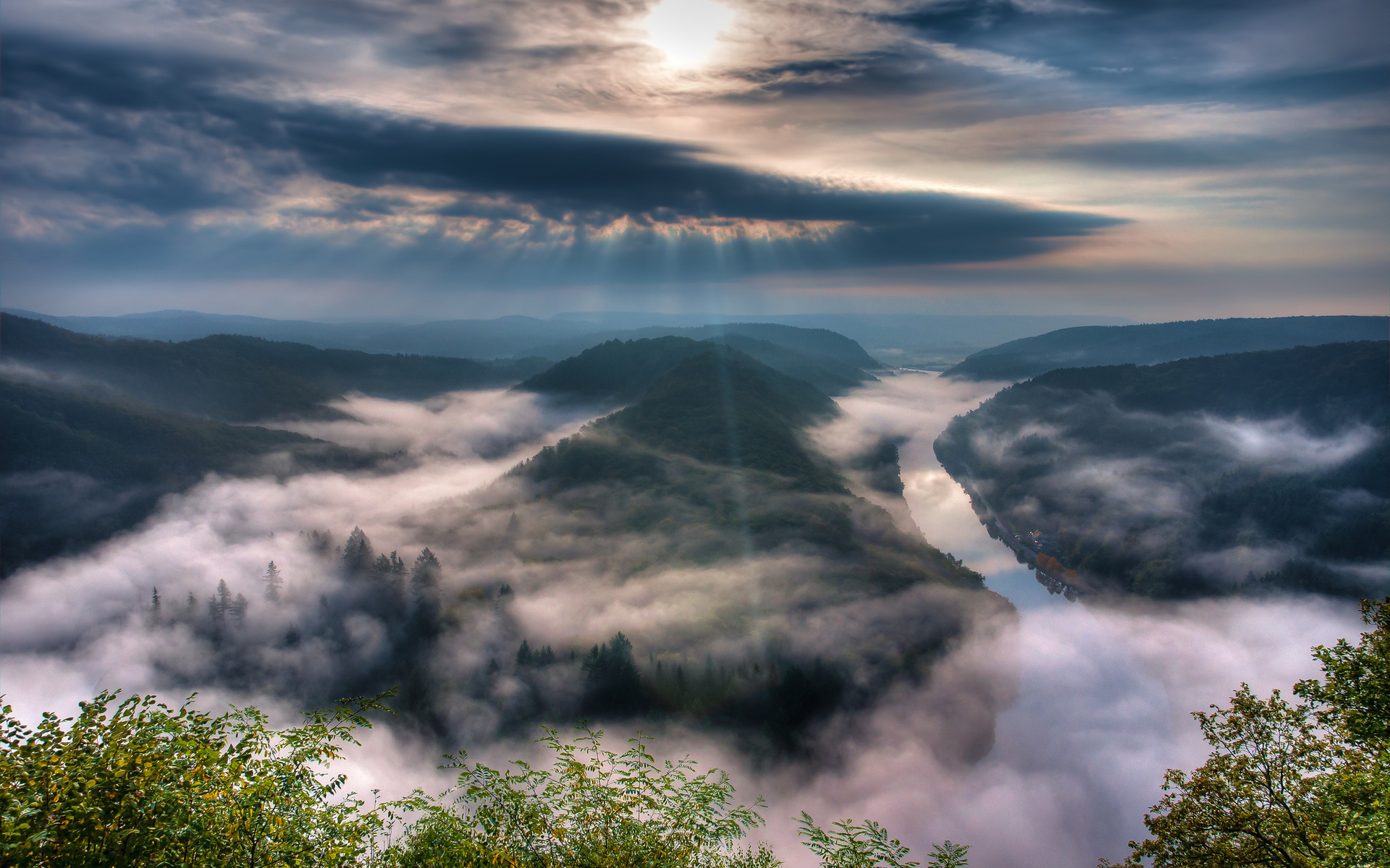 Небо туман картинки