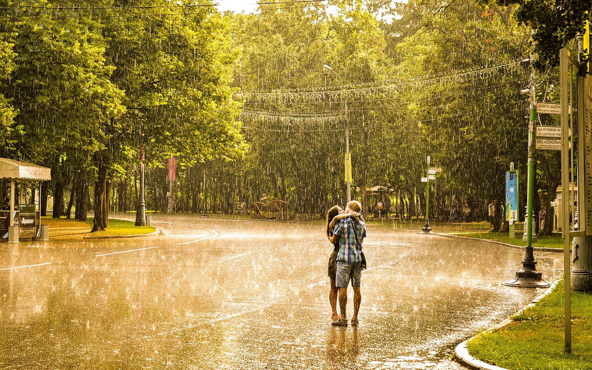 картинки дождь весной в городе избавиться