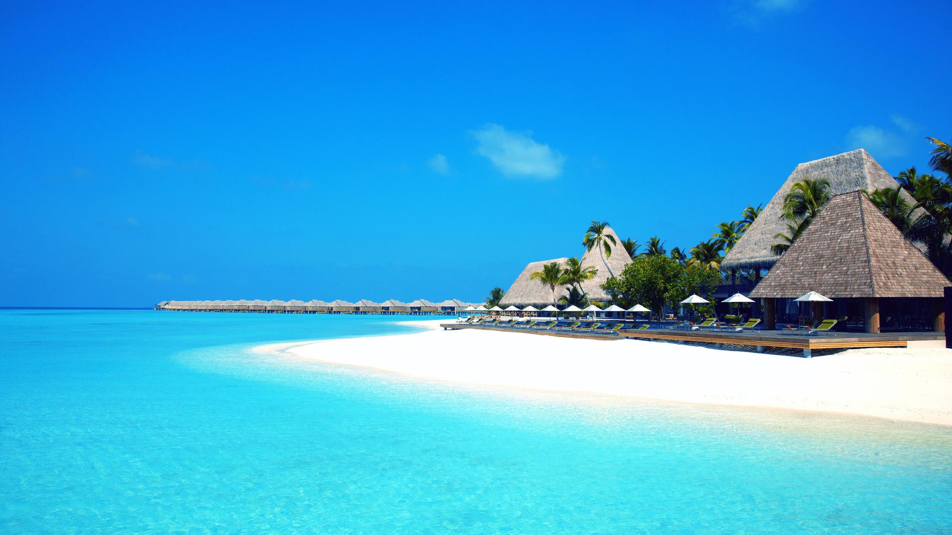 Мальдивы красивая картинка
