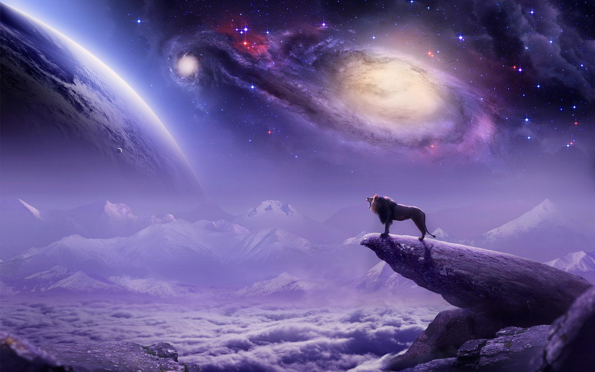 Фантастические картинки космос