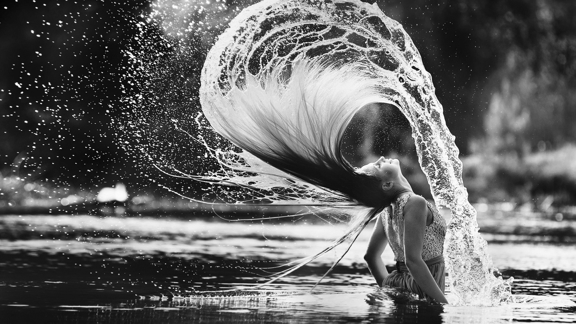 Красивые картинки воды и людей