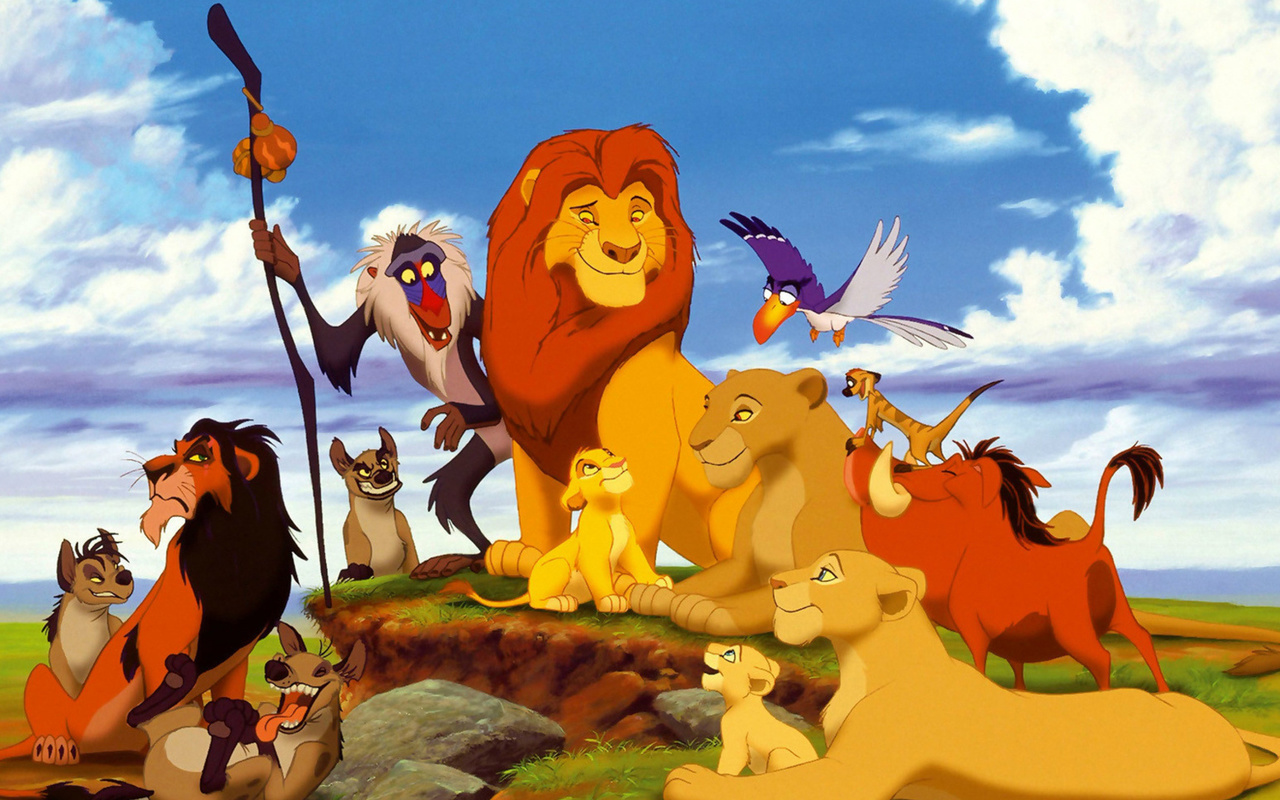 Картинки из мультика про льва