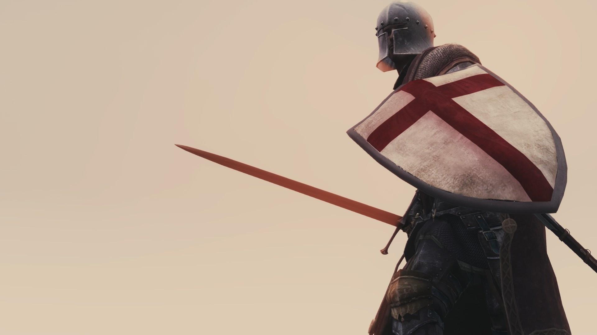 Картинки крестоносцев с щитом и мечом это очень