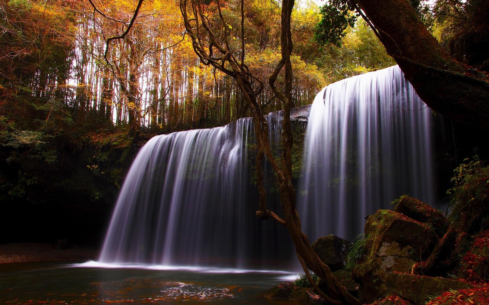 очень красивые картинки водопад