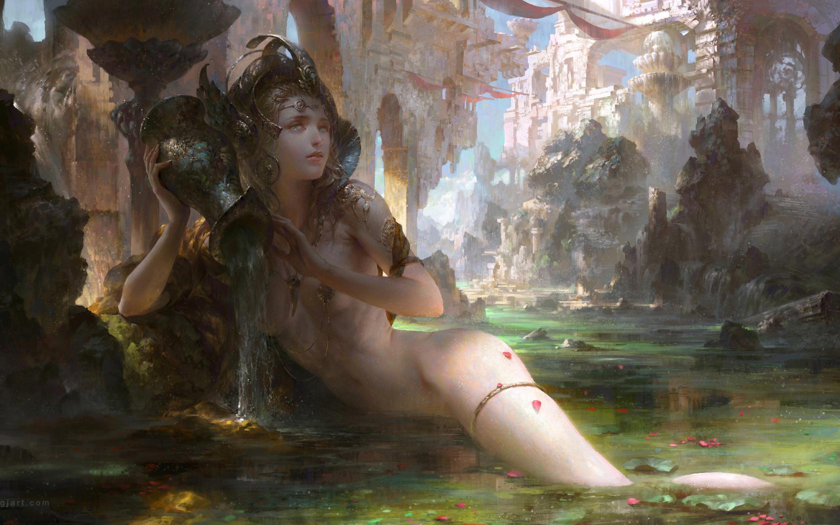 картинки голых девушек из фэнтези