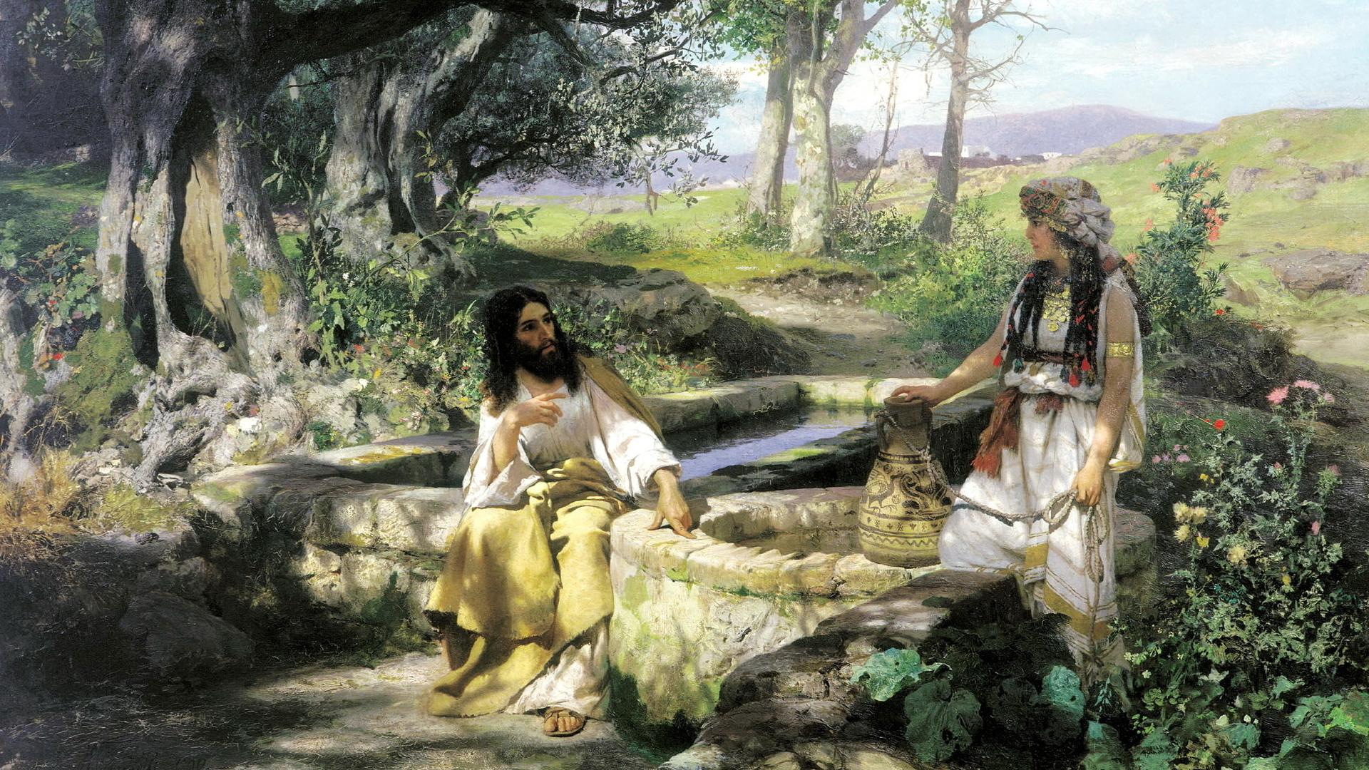 Библейская тематика в картинках