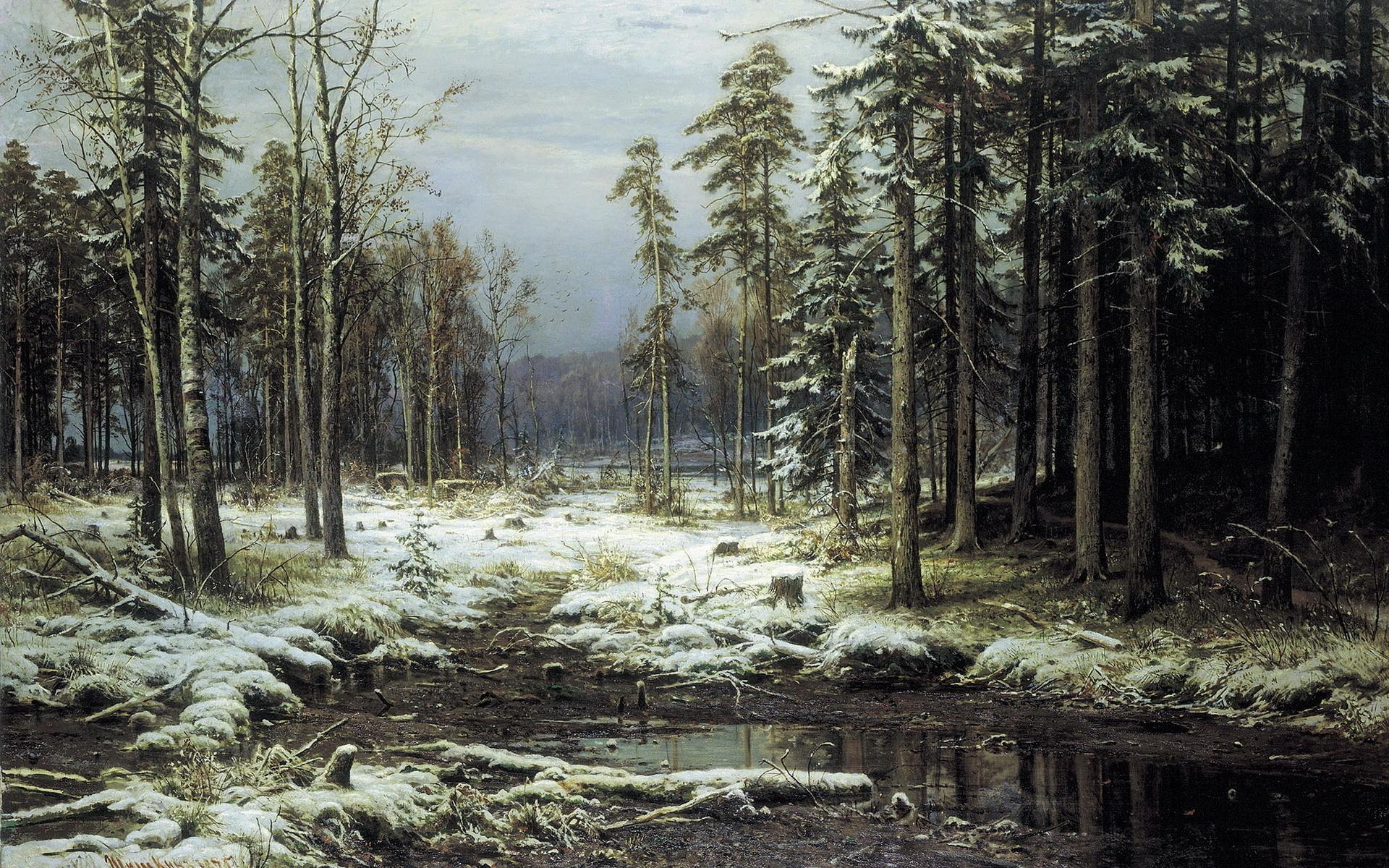 Картинки шишкин лес, картинки